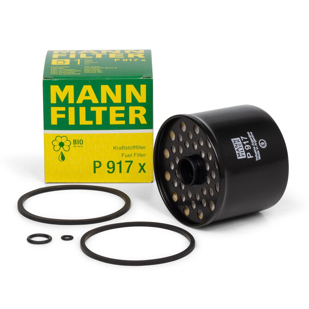 MANN P917X Kraftstofffilter Dieselfilter ALFA ROMEO AUDI FORD PEUGEOT SEAT VW