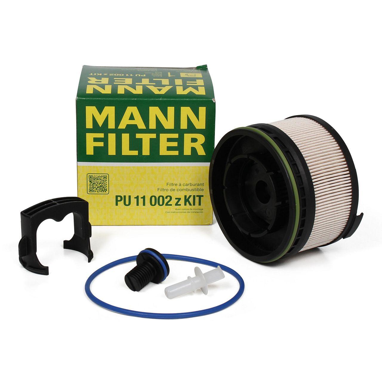 MANN PU11002ZKIT Kraftstofffilter Dieselfilter für MERCEDES W213 E200d E220d