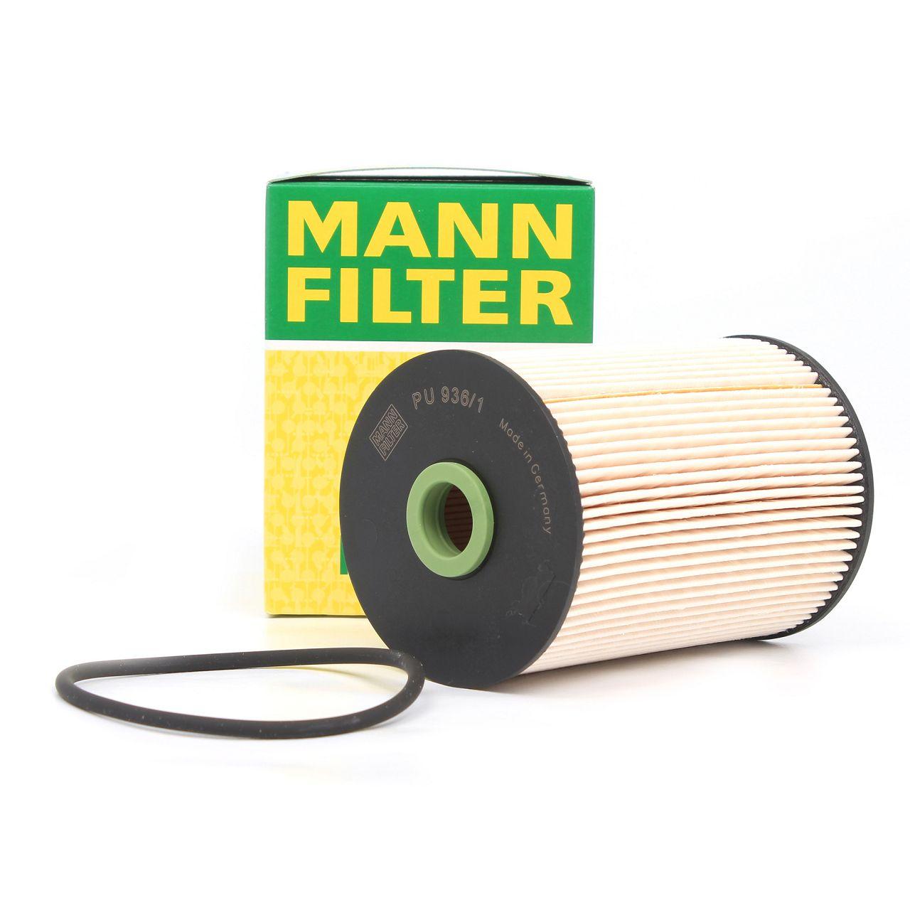 MANN Kraftstofffilter Dieselfilter PU936/1X für VW AUDI SEAT SKODA 1K0127434B