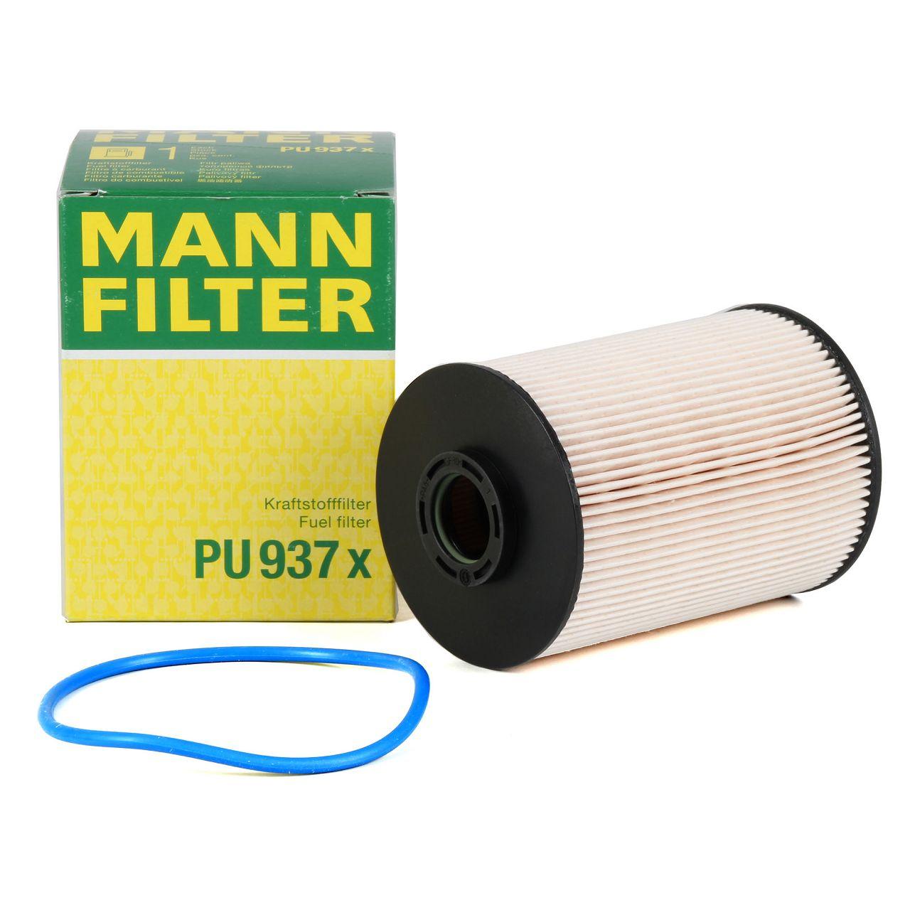 MANN PU937X Kraftstofffilter Dieselfilter CITROEN C5 C6 PEUGEOT 407 607 2.7 TDI