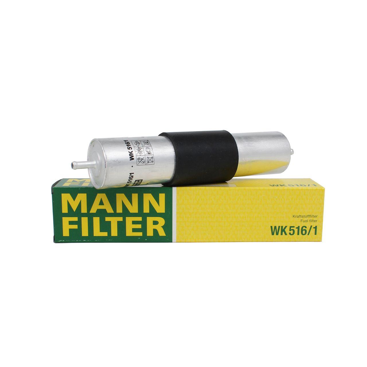 MANN Kraftstofffilter Benzinfilter WK516/1 BMW 3er E36 E46 5er E34 E39 7er E38