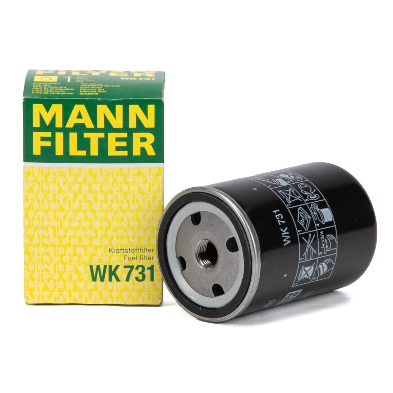 MANN WK731 Kraftstofffilter Dieselfilter für CASE CLAAS DEUTZ FENDT MAN SCANIA