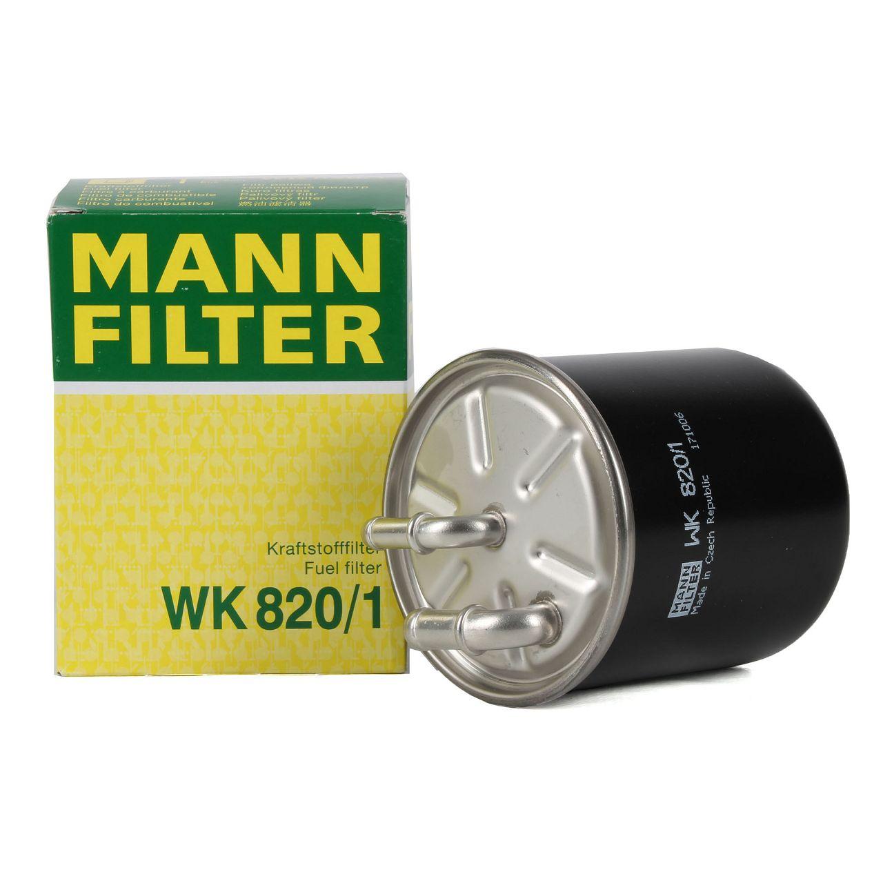 MANN Kraftstofffilter Dieselfilter WK820/1 für CHRYSLER MERCEDES-BENZ CDI
