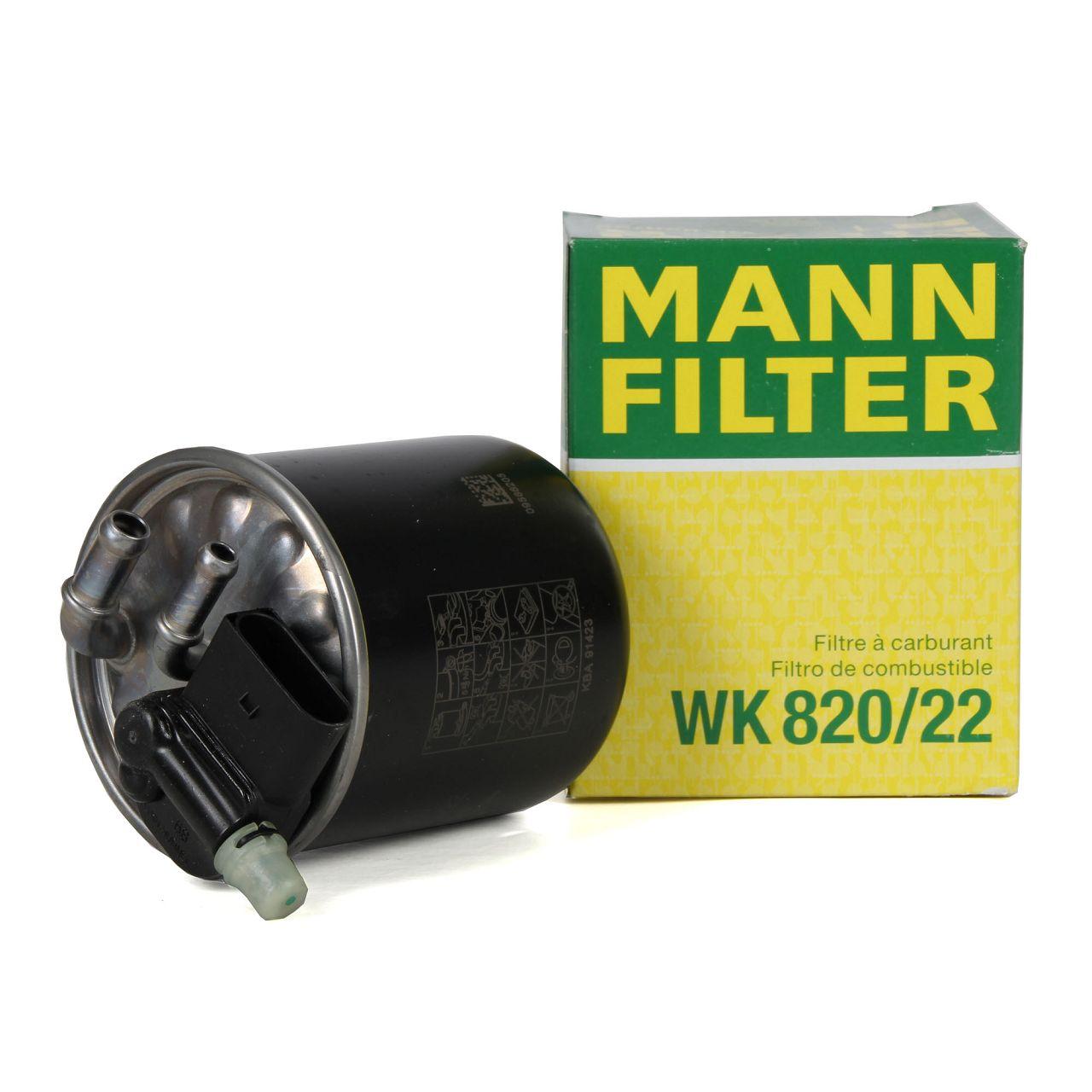 MANN WK82022 Kraftstofffilter Dieselfilter W176 W246 W242 X117 X156 160-180 D 6420906552