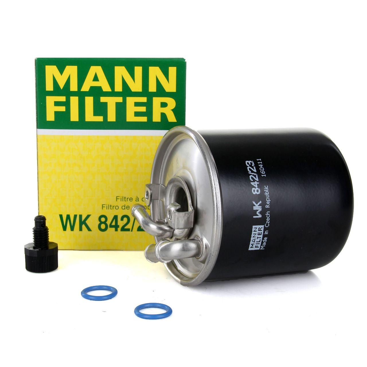 MANN Kraftstofffilter Dieselfilter für CHRYSLER JEEP MERCEDES MITSUBISHI SMART