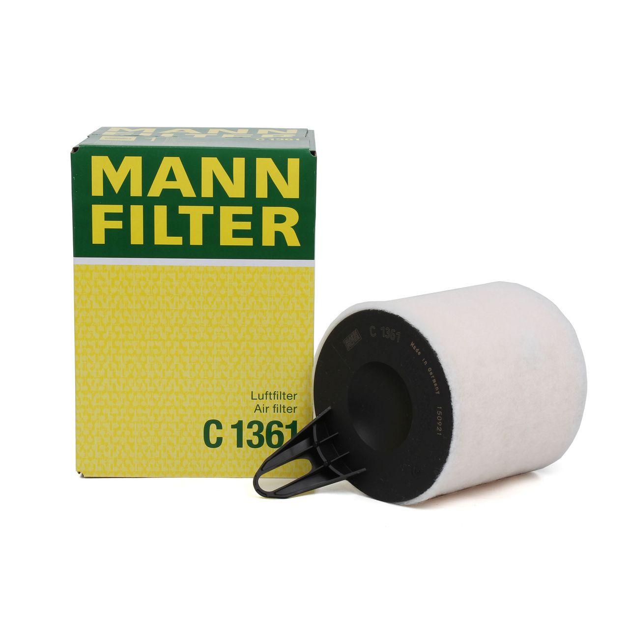MANN Luftfilter C1361 BMW 1er E81 E87 E88 E82 2er F23 F22 3er E90 E91 E92