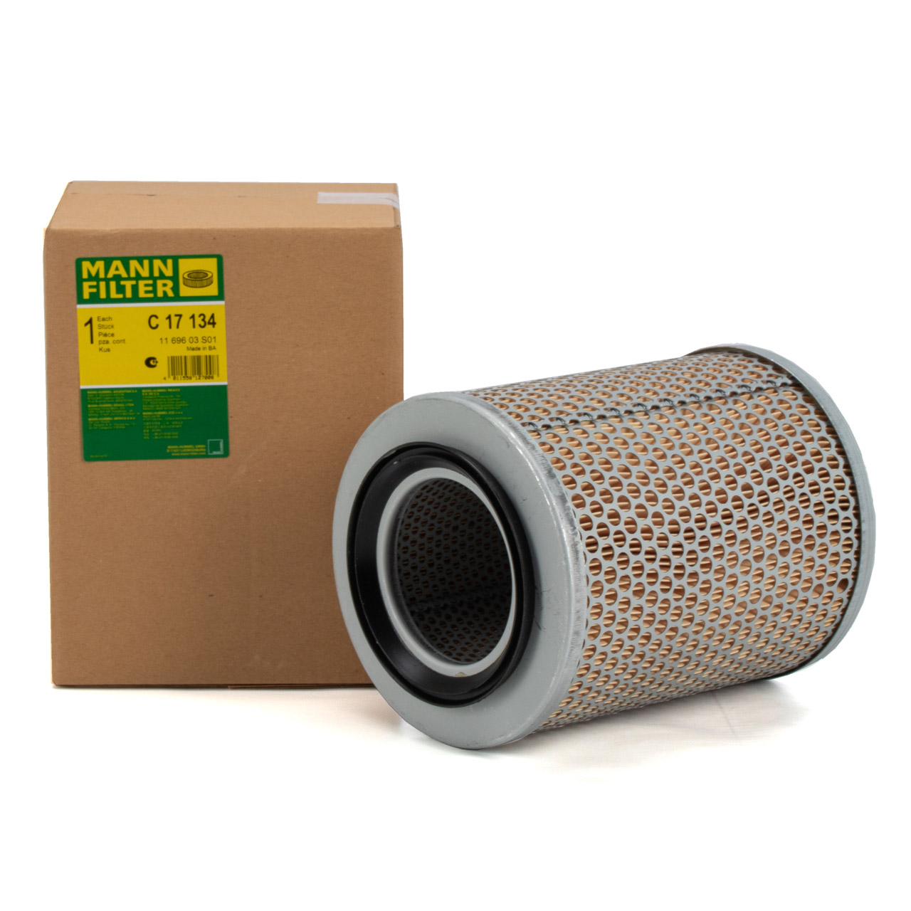 MANN C17134 Luftfilter für DEUTZ AGROXTRA D06 D07 DX FENDT Farmer