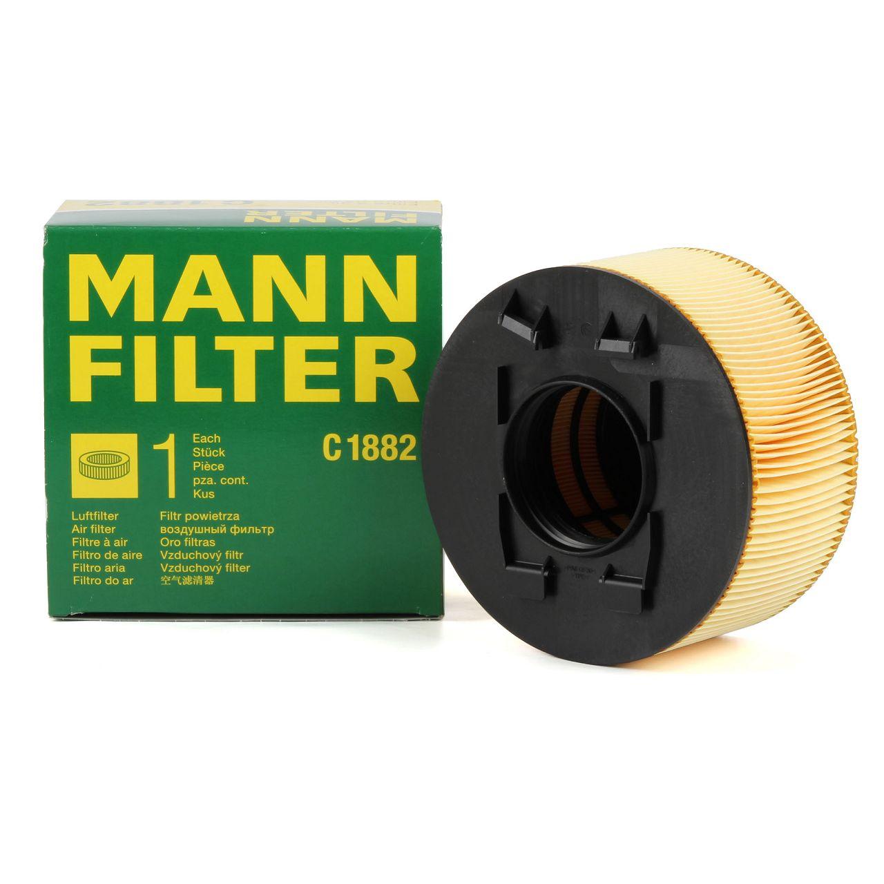 MANN Luftfilter C1882 für BMW 3er E46 316i 115 PS + 318i 136/143/150 PS