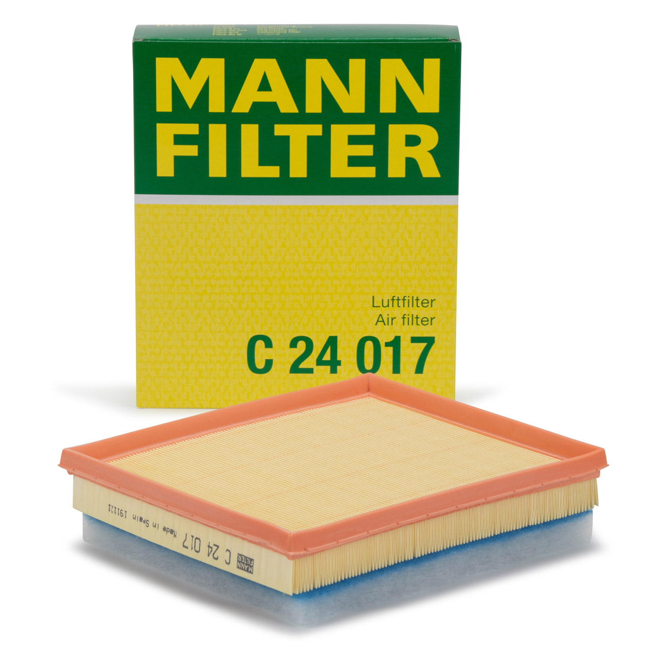 MANN C24017 Luftfilter CITROEN C3 C4 DS PEUGEOT 208 308 Partner OPEL TOYOTA 1.6 DIESEL