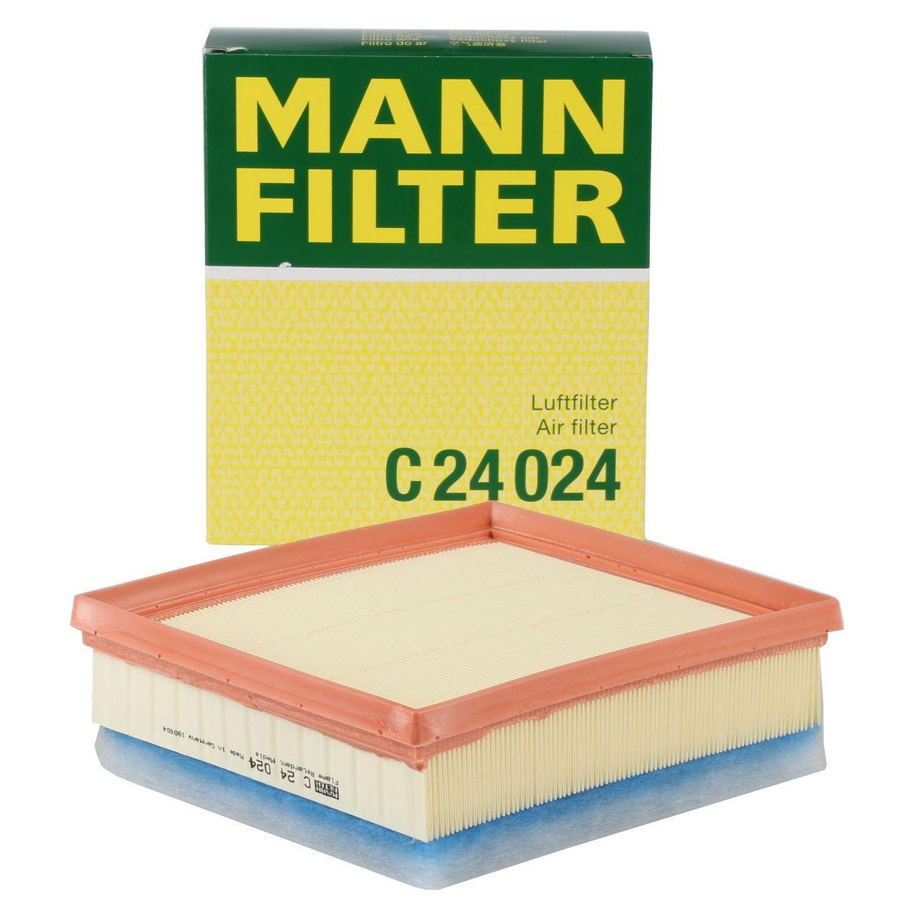 MANN C24024 Luftfilter für BMW F20/21 F22/23 F30-34 F32-36 4-Zylinder Diesel
