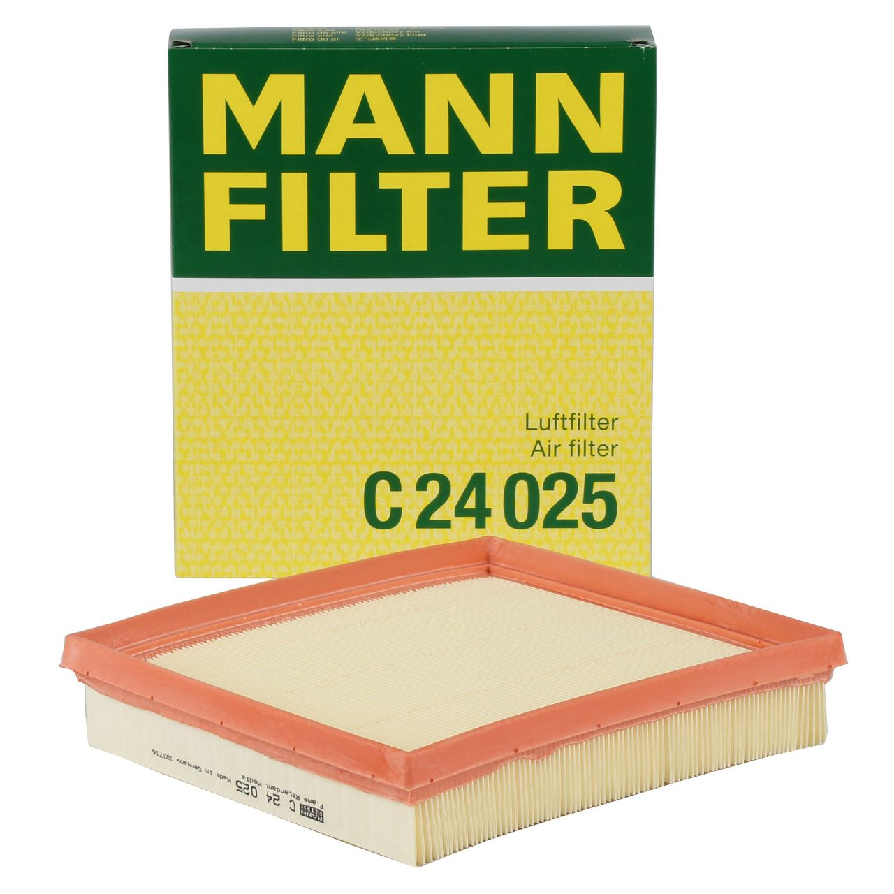 MANN C24025 Luftfilter für BMW F20/21 F22/23 F30-34 F32-36 4-Zylinder Benziner