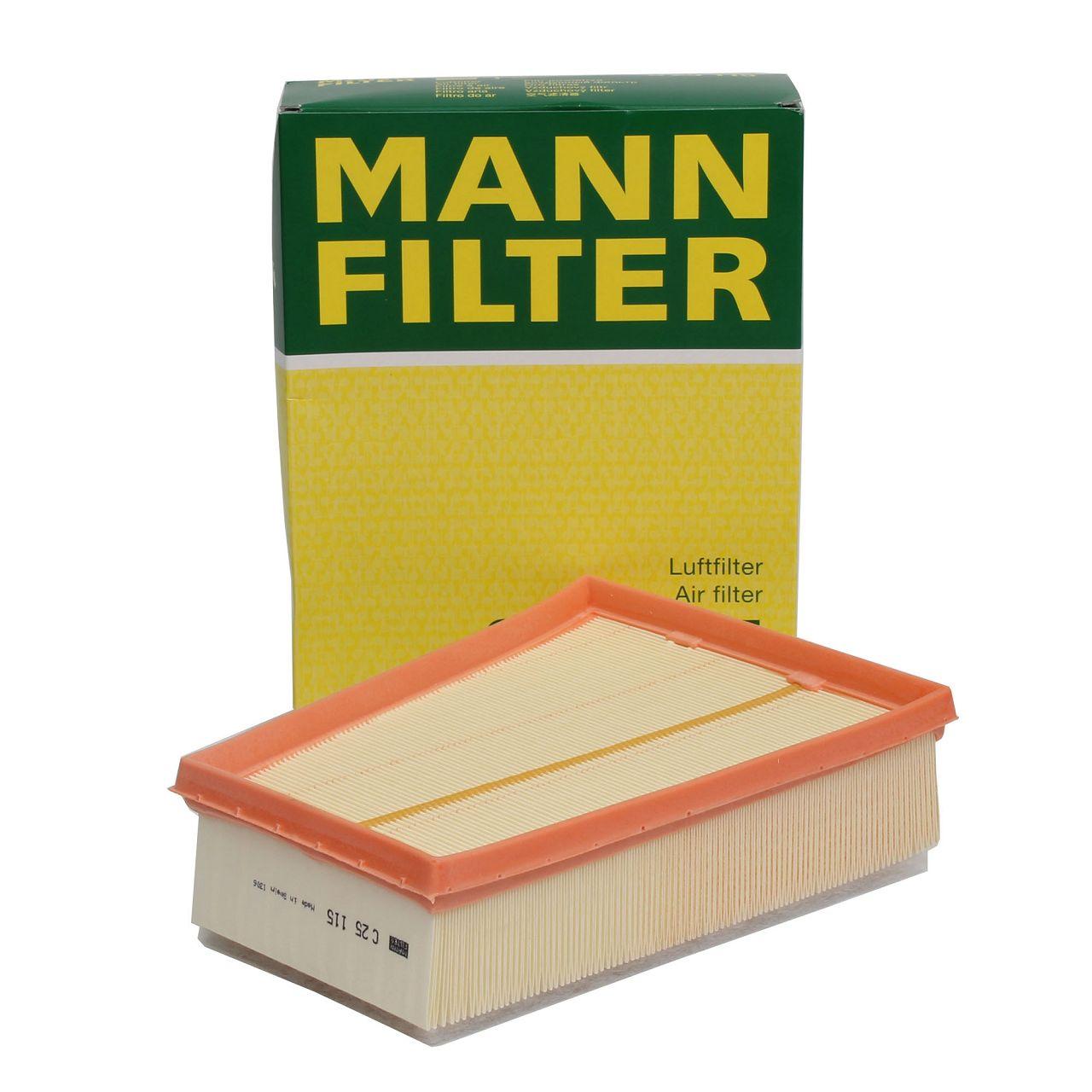 MANN Luftfilter C25115 für RENAULT FLUENCE MEGANE III GRAND / SCENIC III