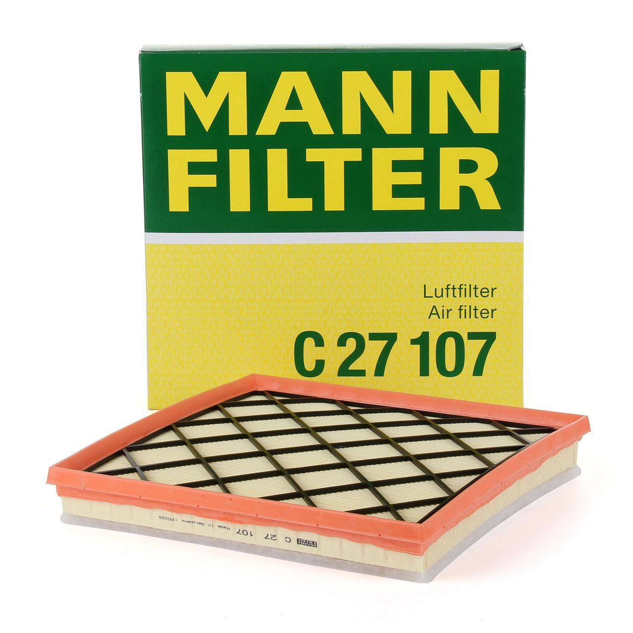 MANN Luftfilter C27107 für CHEVROLET CRUZE ORLANDO OPEL ASTRA J CASCADA ZAFIRA C