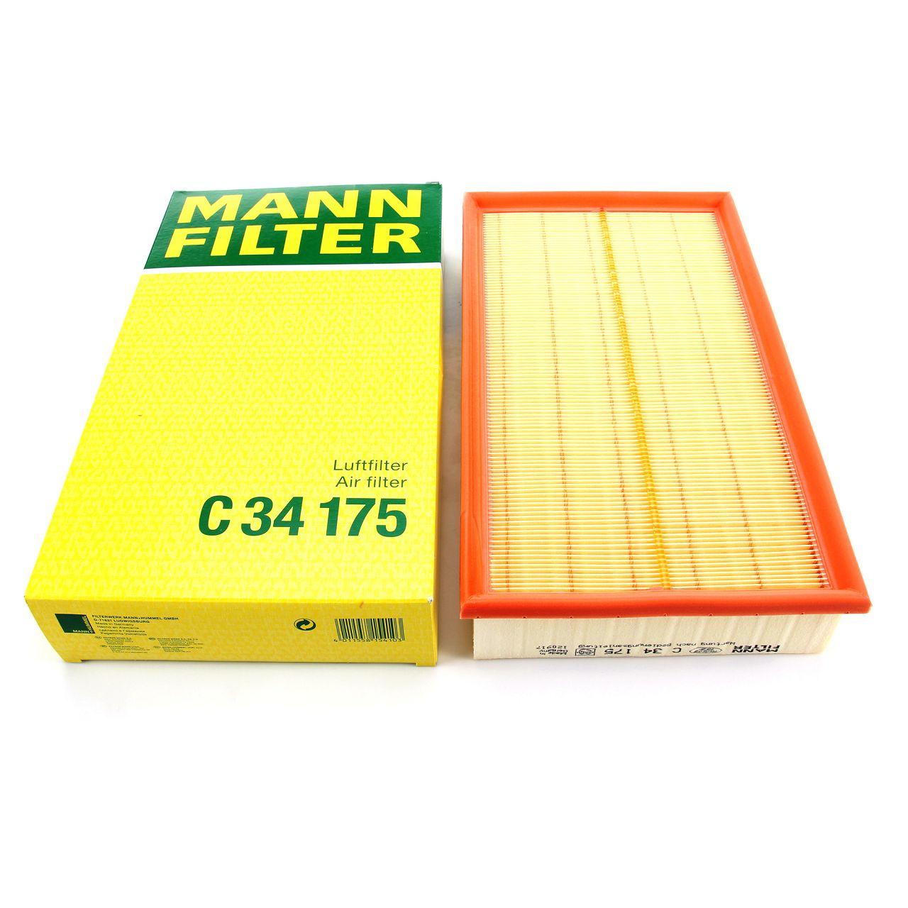MANN Luftfilter C34175 für MERCEDES-BENZ E-KLASSE W210 + Kombi S210 6040940504