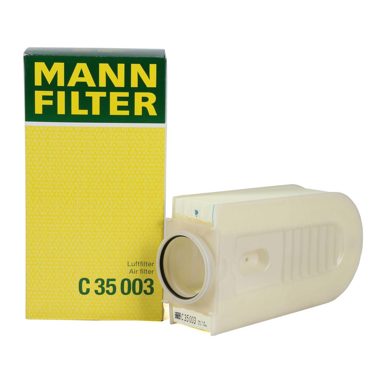 MANN Luftfilter Motorluft C35003 für MERCEDES W204 C/X218 W212 X204 180-250CDI