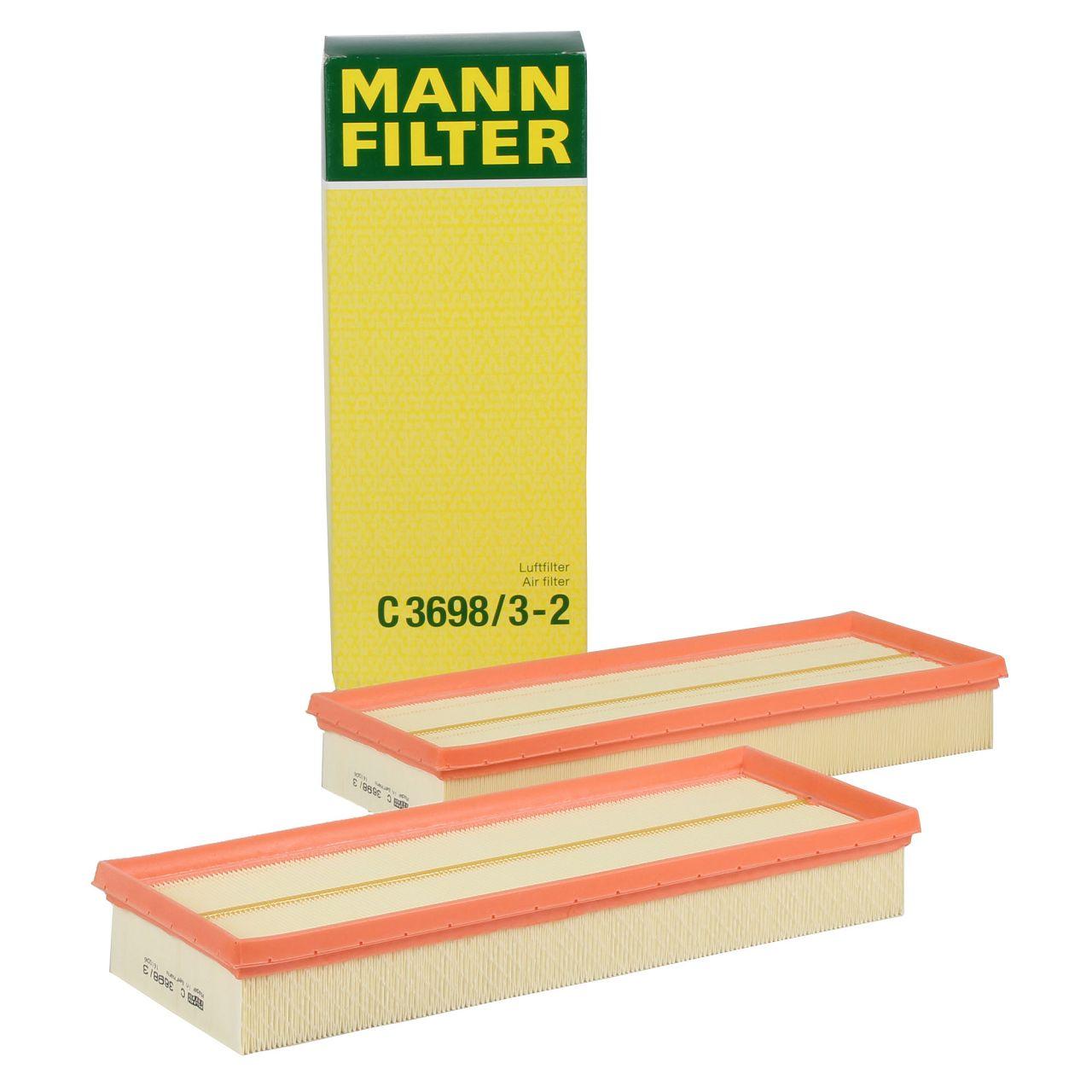 MANN Luftfilter C3698/3-2 MERCEDES W203 W204 C219 W211 W212 W463 X164 X204