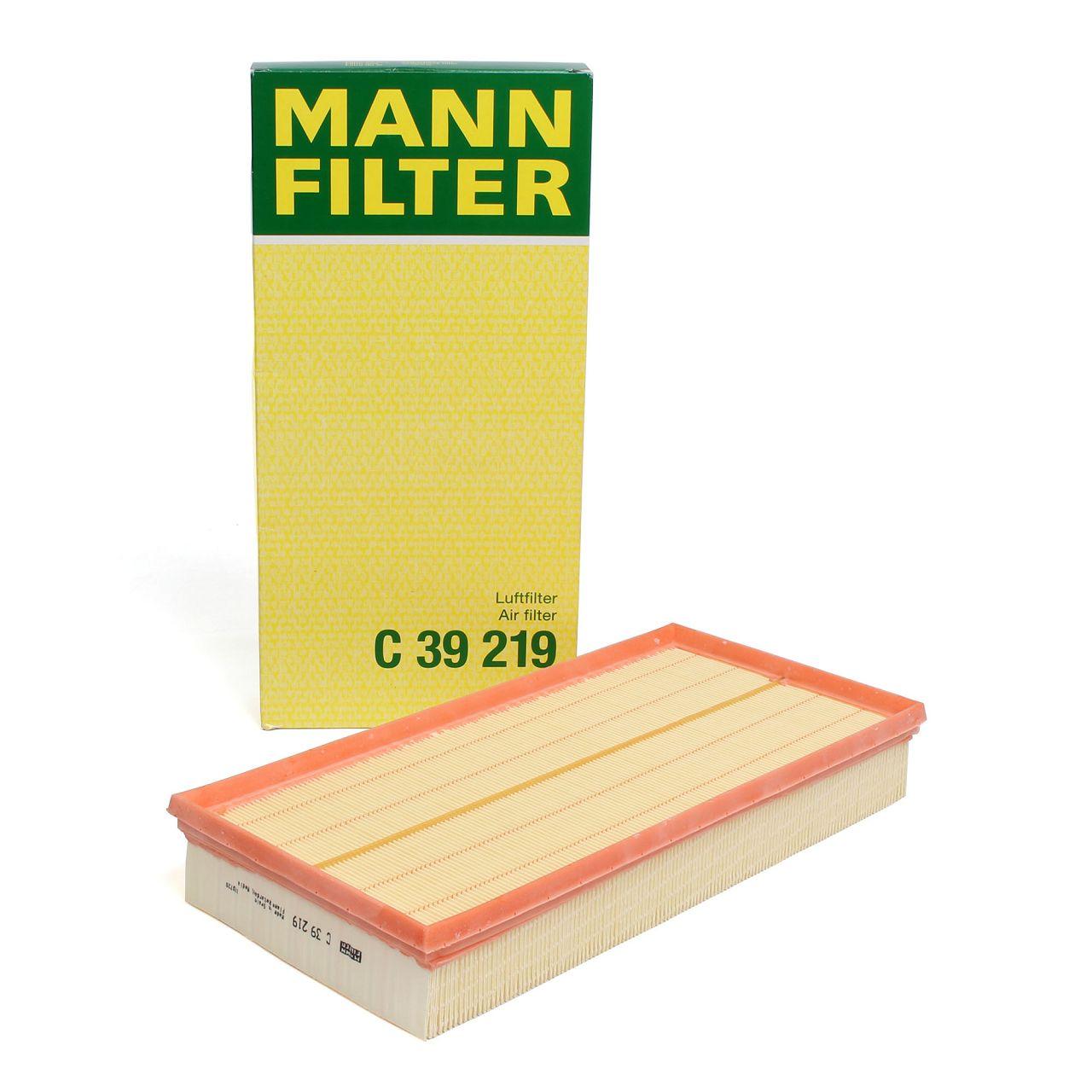 MANN Luftfilter C39219 für AUDI Q7 4L PORSCHE CAYENNE 9PA 92A VW TOUAREG 7L 7P