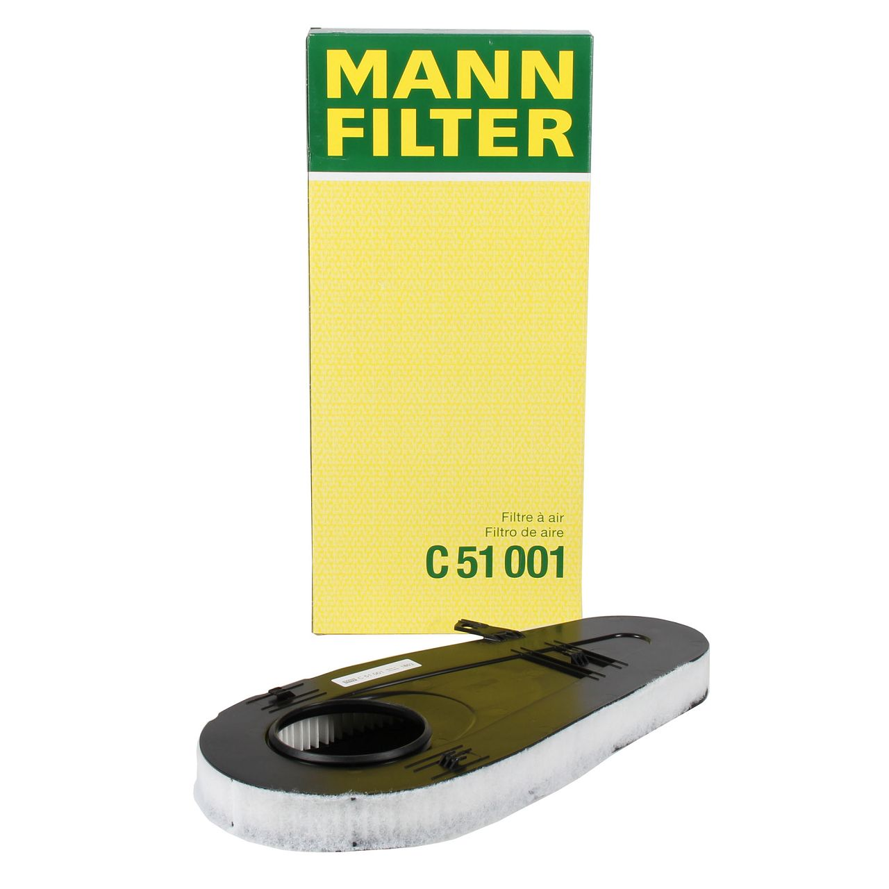 MANN C51001 Luftfilter für BMW 5er F10 F11 F07 518-535d 7er F01-04 730d 740d