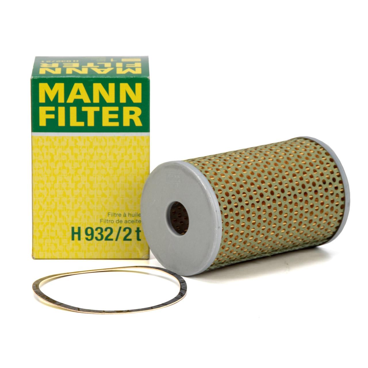 MANN H9322T Ölfilter für Fendt Farmer 2 3 4 / Favorit 3 4 / H932/2t EICHER
