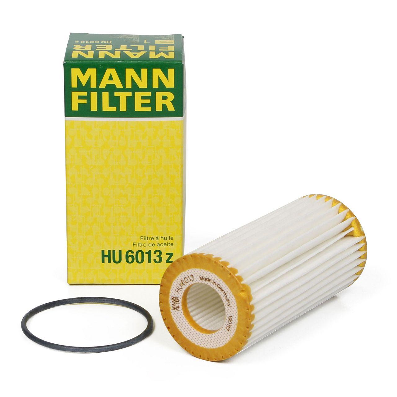 MANN Ölfilter HU6013z für AUDI PORSCHE SEAT SKODA VW 1.8 TFSI 2.0 TFSI / GTI / R