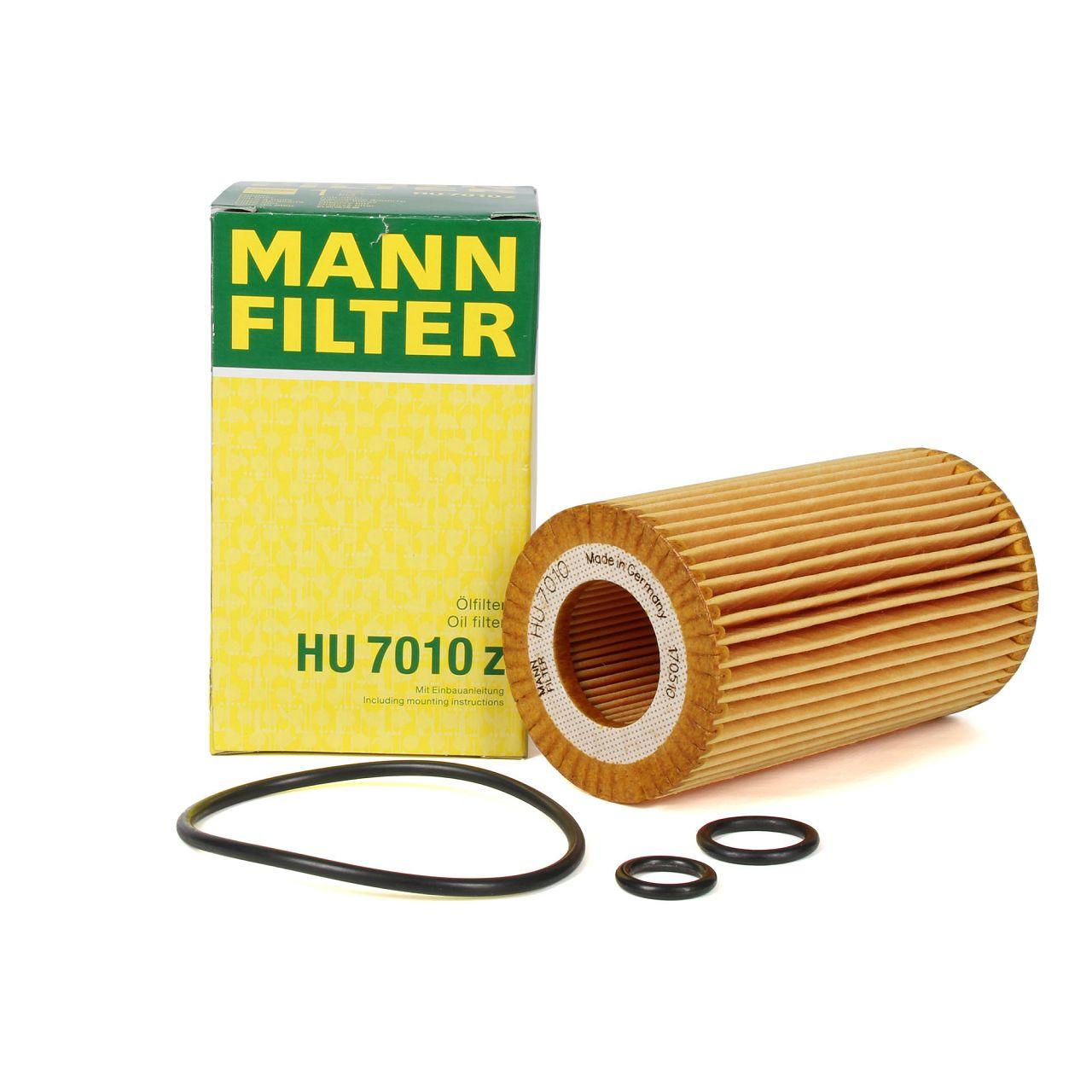 MANN Ölfilter HU7010z MERCEDES W176 W246 W204 W205 W212 X156 W221 W222 DIESEL