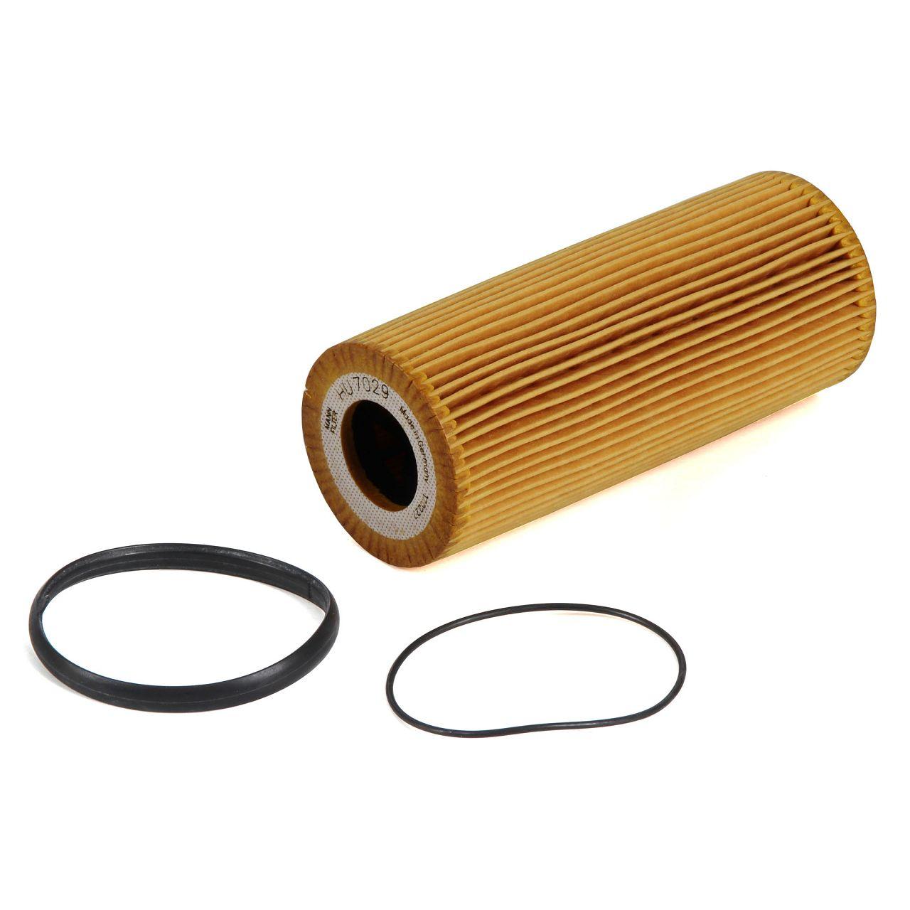 MANN Inspektionskit Filterpaket für AUDI Q7 (4LB) 3.0 TFSI quattro 272/333 PS