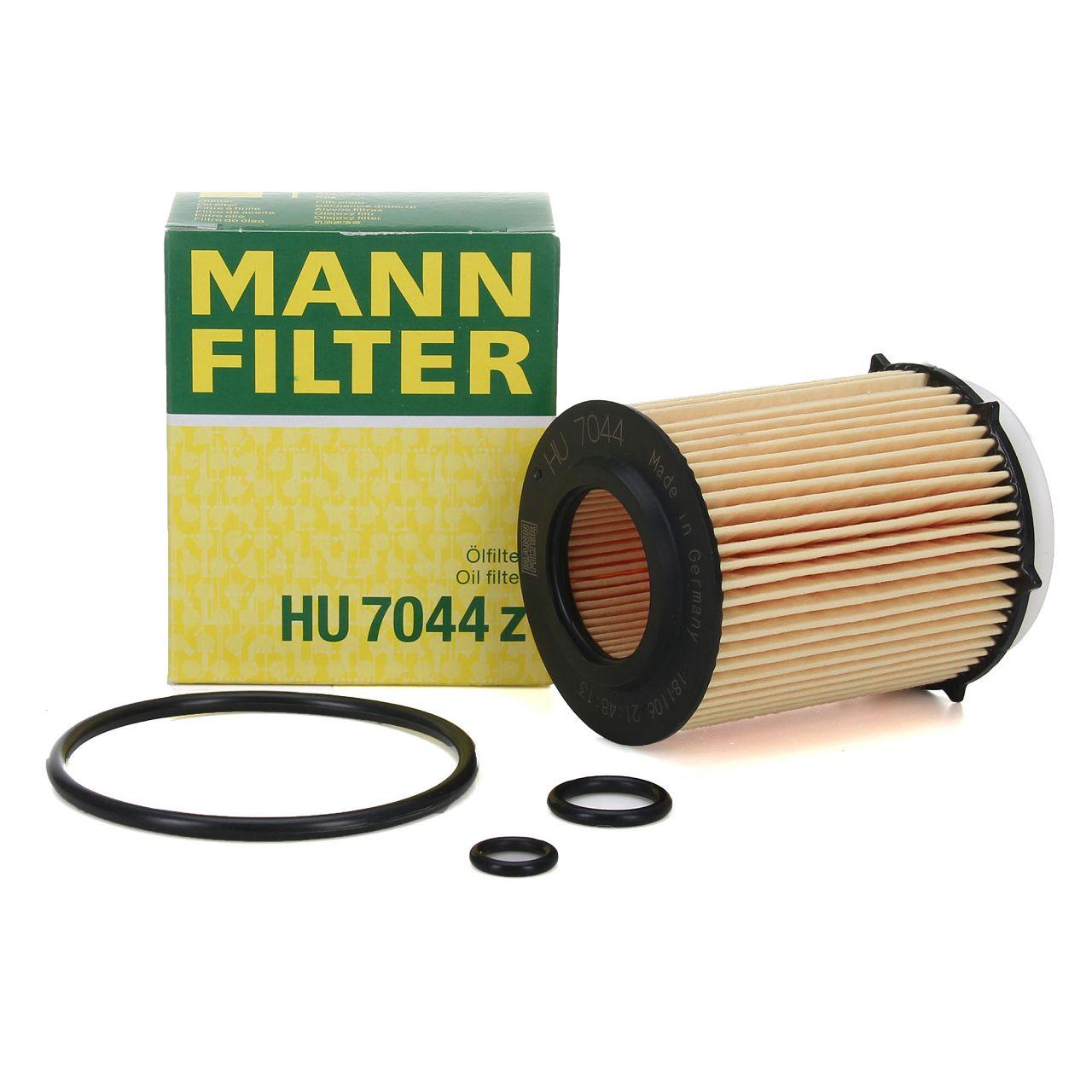 MANN HU7044z Ölfilter MERCEDES W176 W177 W246 W247 W204 W205 W212 W213 X156 X247 X253 C253