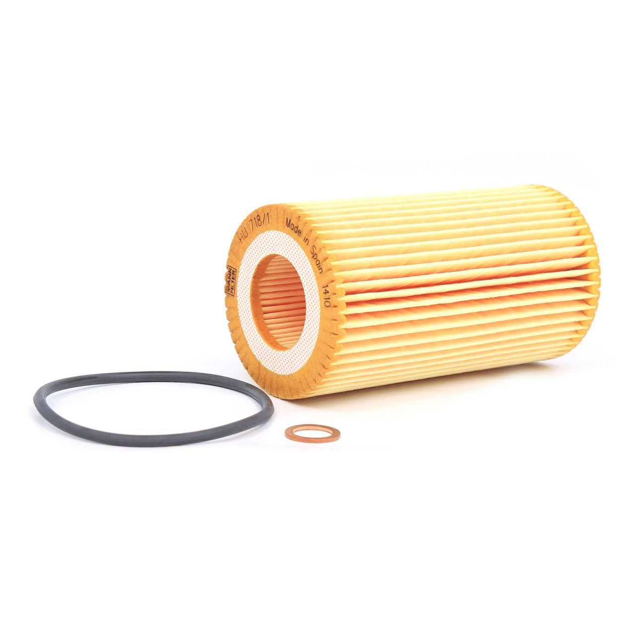 MANN Inspektionskit Filterpaket Filterset für BMW 3er E46 318d 320d 116-136 PS