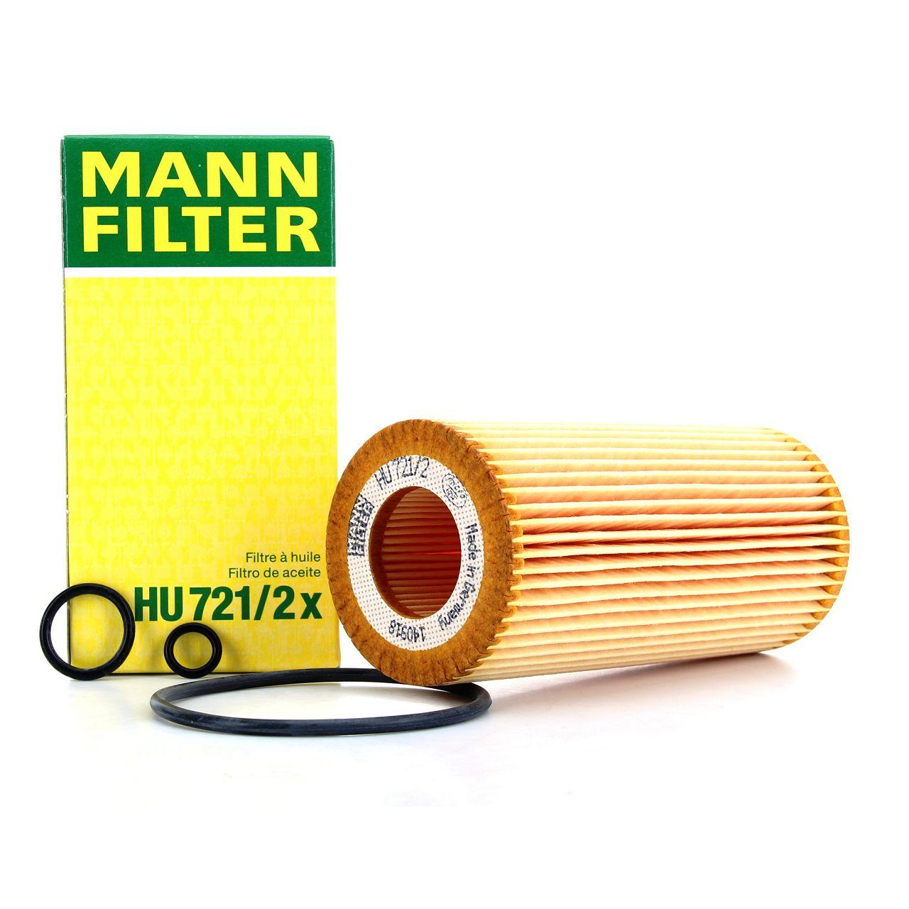 MANN HU721/2X Ölfilter MERCEDES W203 C 30 CDI AMG W210 W211 W220 280-320 CDI