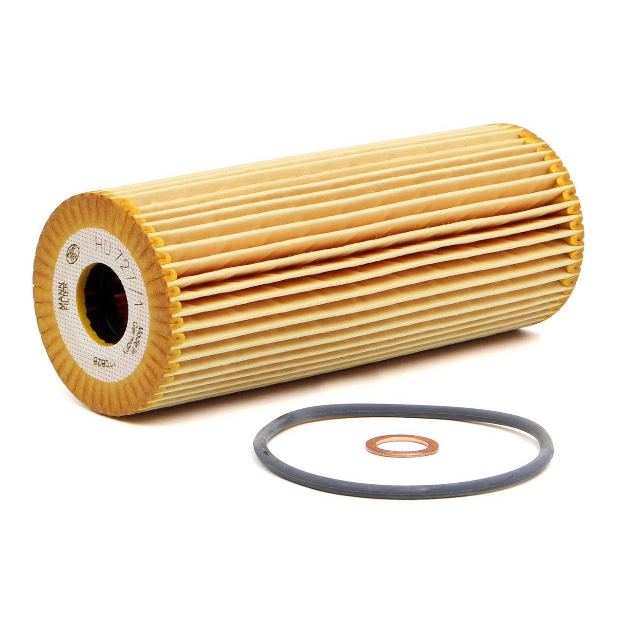 MANN Filterset für MERCEDES E-KLASSE W210 S210 E200 E230 E280 E320 136-220 PS