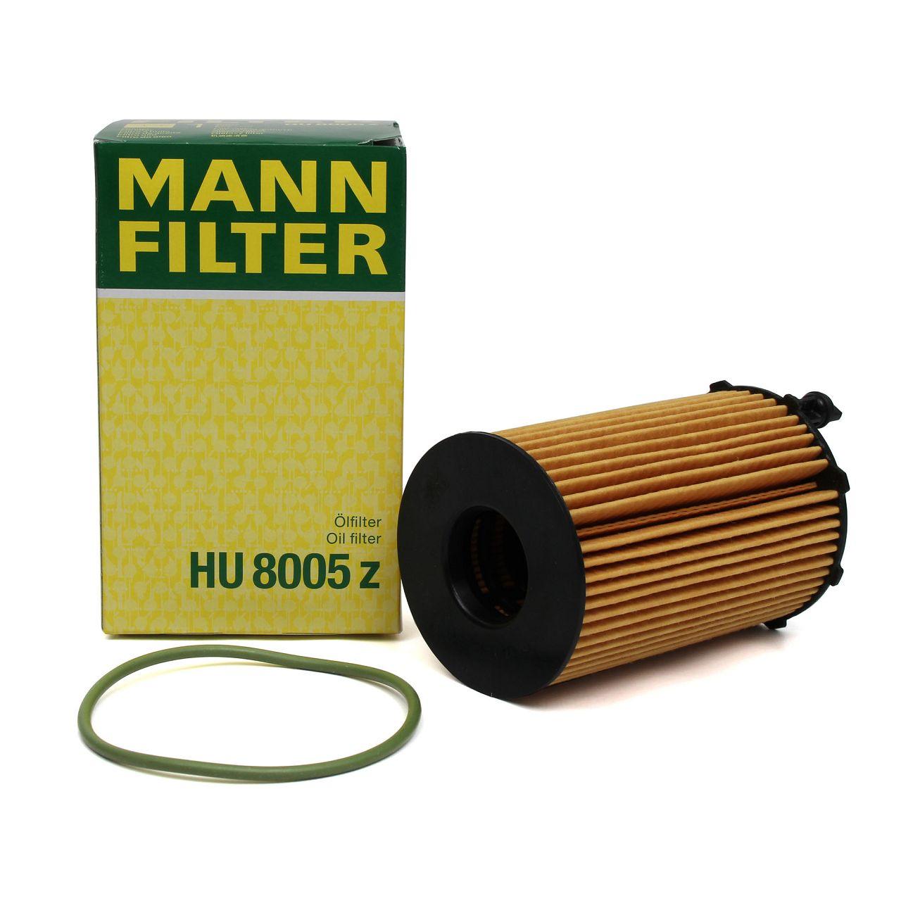 MANN HU8005z Ölfilter für AUDI A4 A5 A6 A7 A8 Q5 Q7 VW TOUAREG (7P5) 3.0 TDI