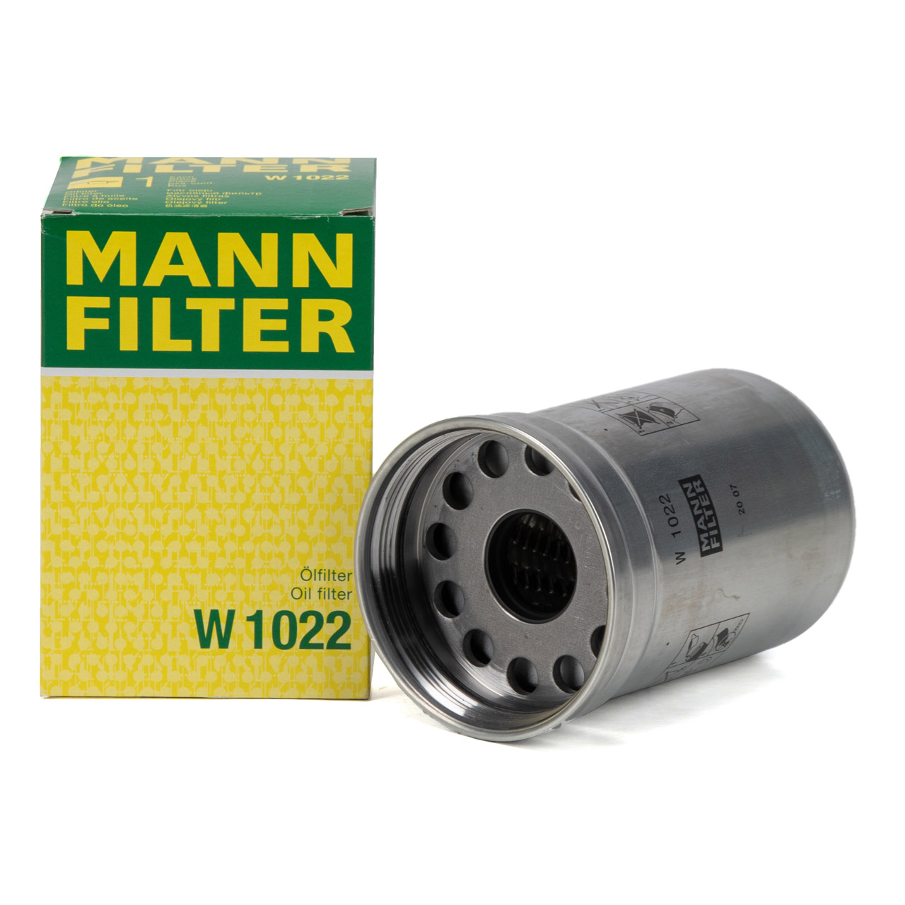 MANN W1022 Ölfilter Motorölfilter JOHN DEERE CLASS Arion 530 540 55 620 630