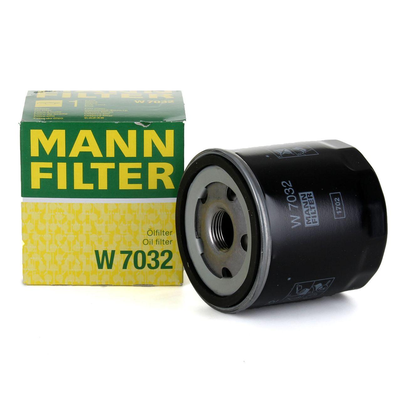 MANN Ölfilter W7032 für DACIA INFINITI MERCEDES-BENZ NISSAN RENAULT