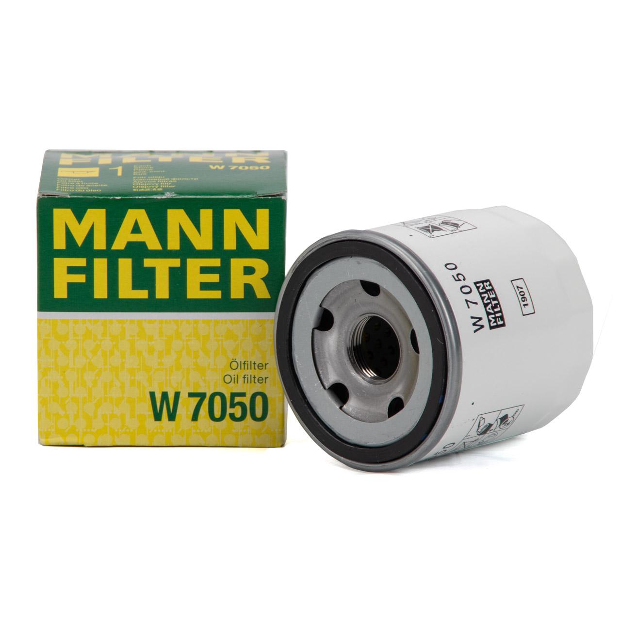 MANN W7050 Ölfilter FORD Tourneo Custom Transit / Tourneo 2.2 / 2.4 TDCi 2128722
