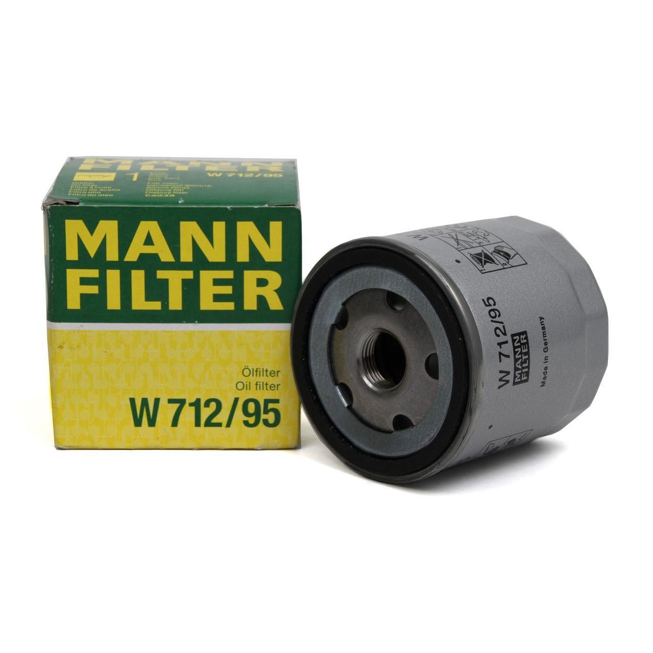 MANN W712/95 Ölfilter AUDI A1 A3 A4 VW GOLF 7 8 PASSAT POLO UP 1.0-1.5 TSI
