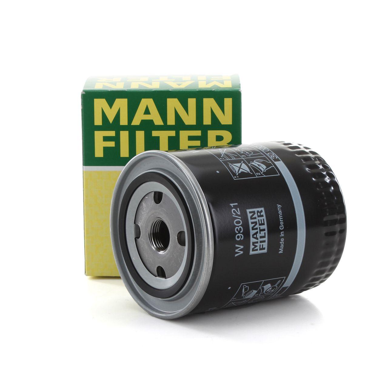 MANN Ölfilter Motorölfilter W930/21 für AUDI A4 A6 A8 SUPERB PASSAT 078115561J