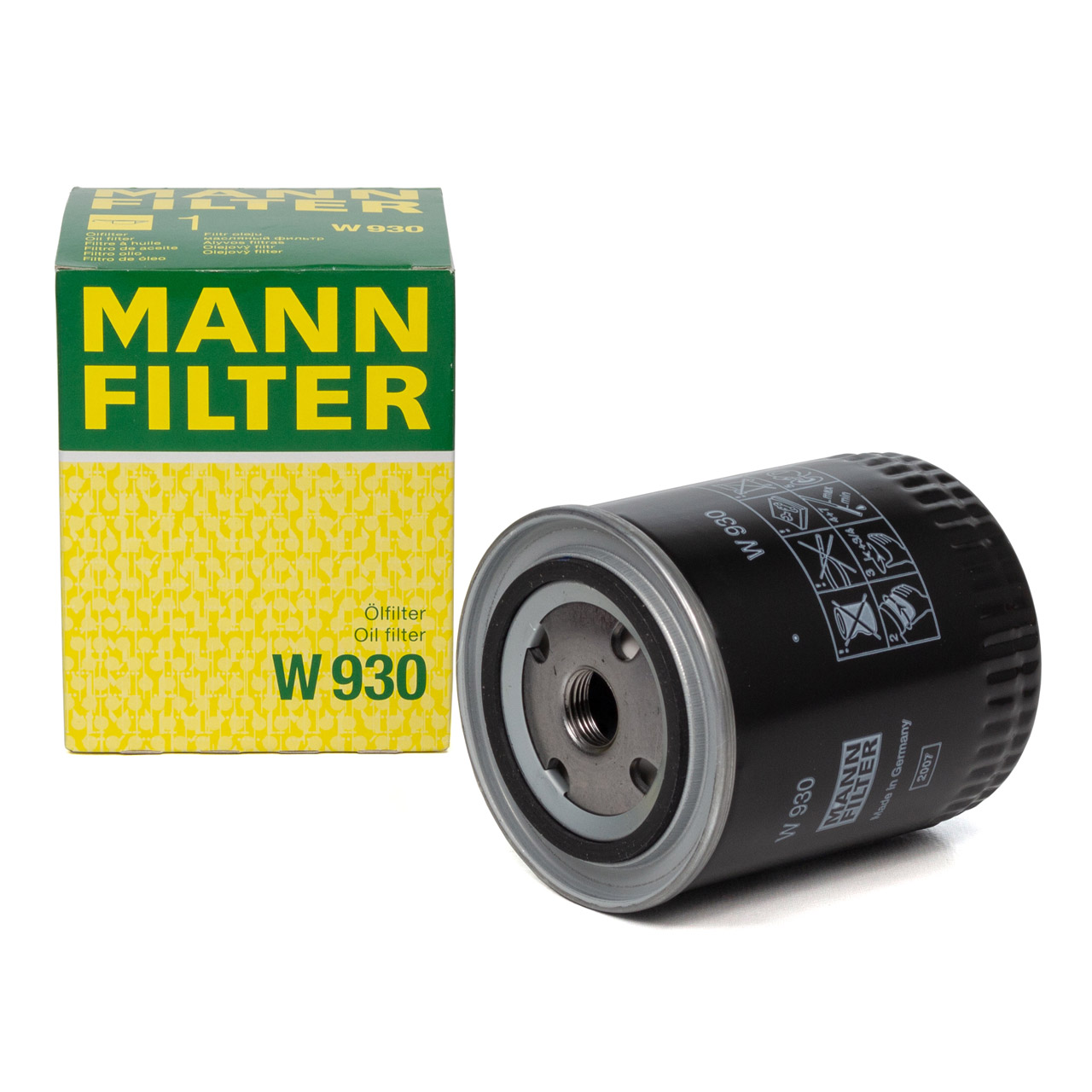 MANN W930 Ölfilter Motorölfilter für FENDT FARMER / FAVORIT / GT - CASE IHC