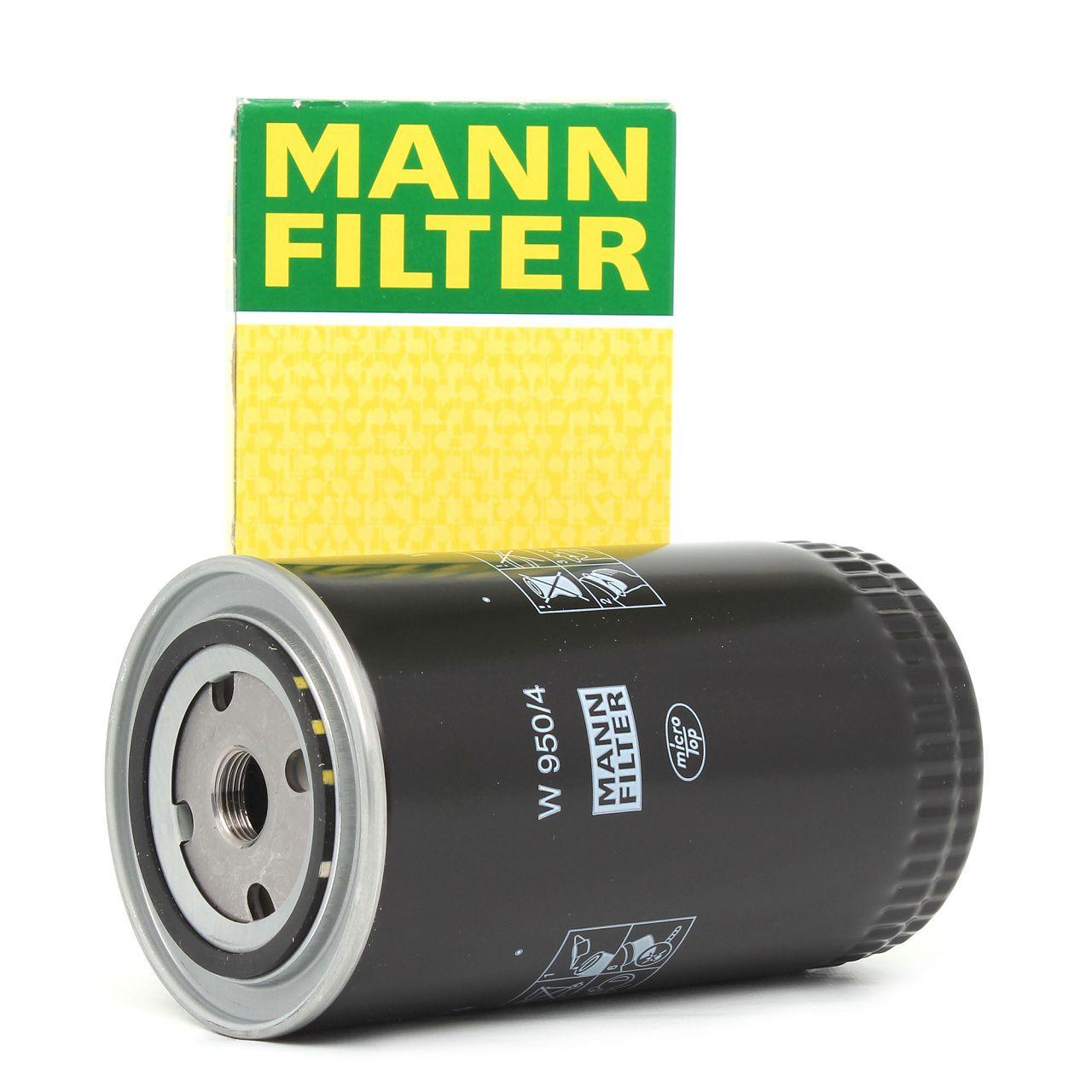 MANN Ölfilter W950/4 für VW Transporter IV T4 LT 2.4 2.5 Volvo 740 760 940 960