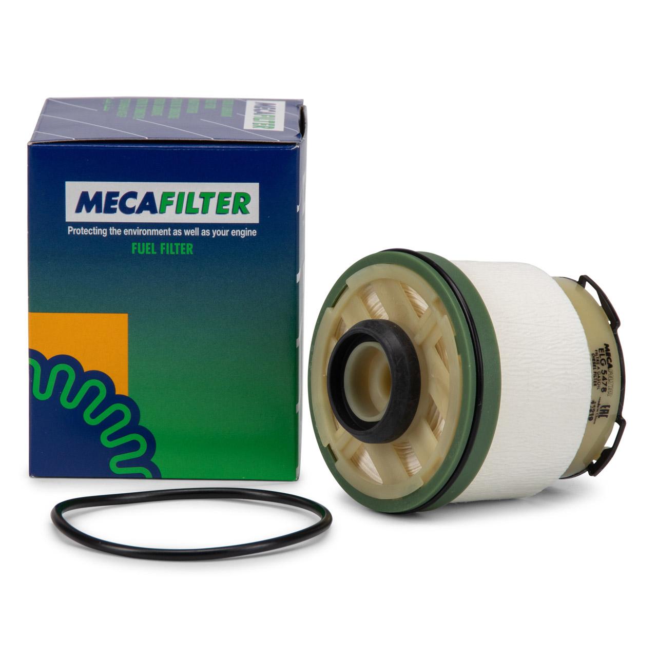 MECAFILTER Kraftstofffilter Dieselfilter FORD RANGER (TKE) 2.2/3.2 TDCi 1725552