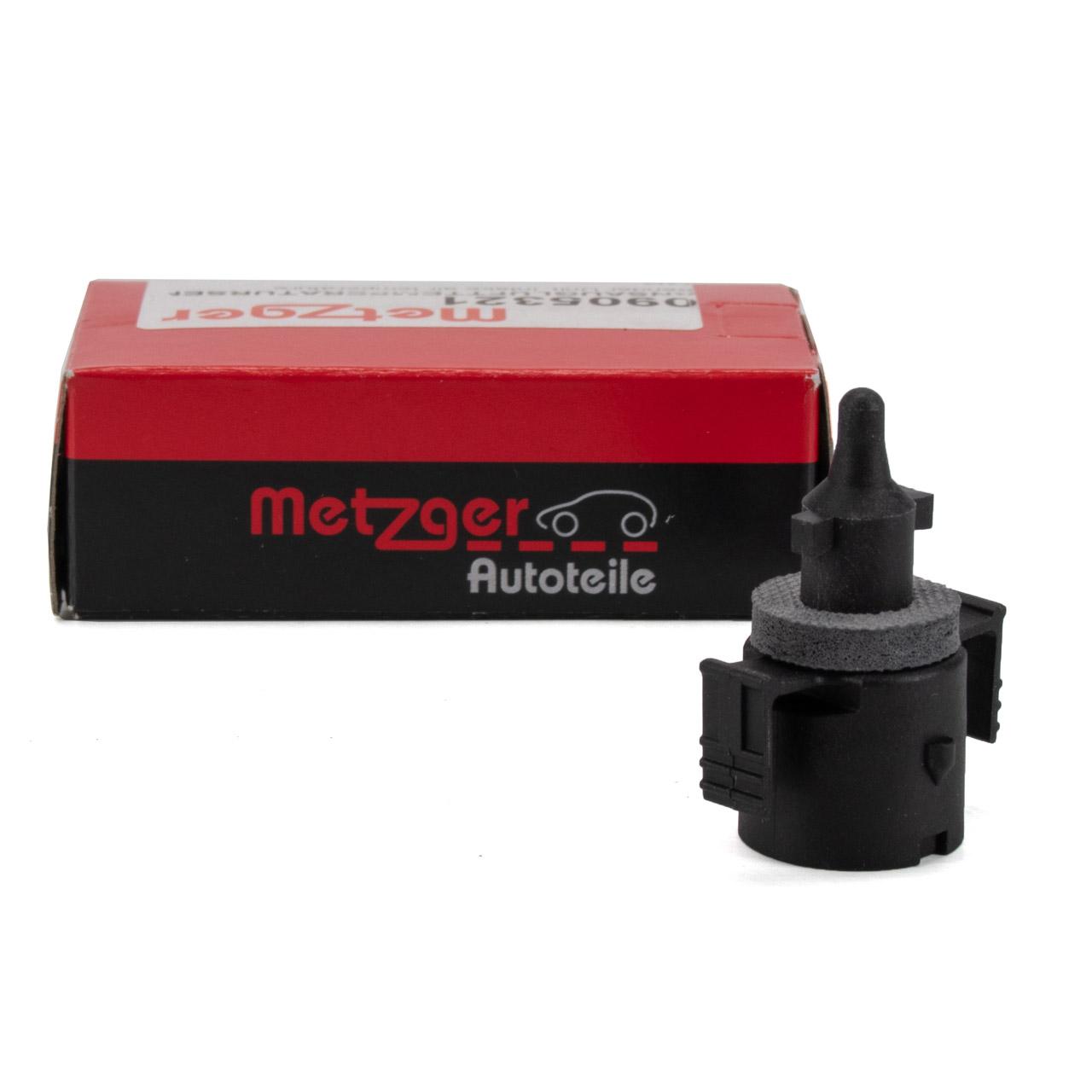 METZGER Temperaturgeber Ansauglufttemperatur MERCEDES 190 W124 W126 W460 W463 A0075422117