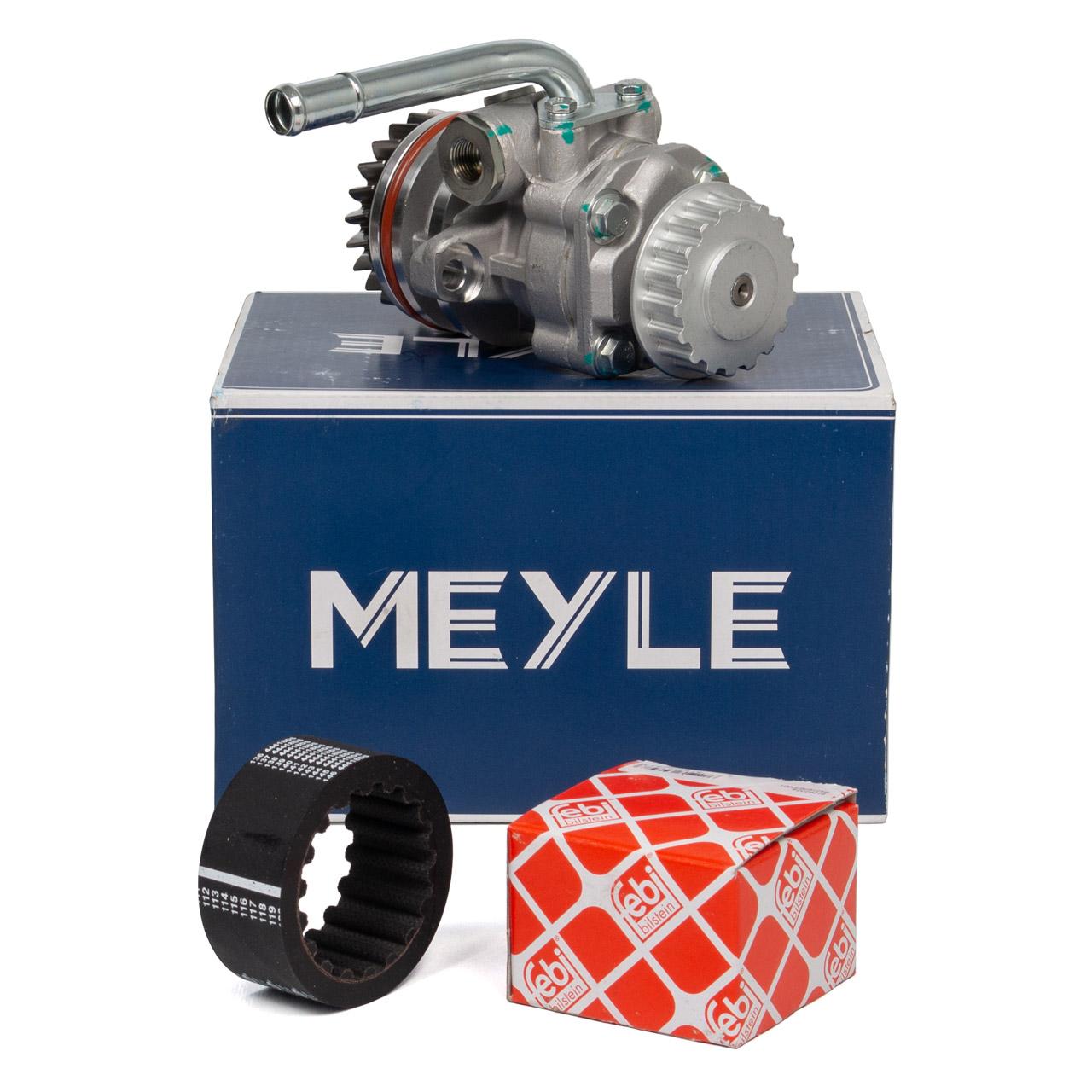 MEYLE Servopumpe Hydraulikpumpe + FEBI Kupplungsmuffe VW T5 Touareg 2.5 TDI