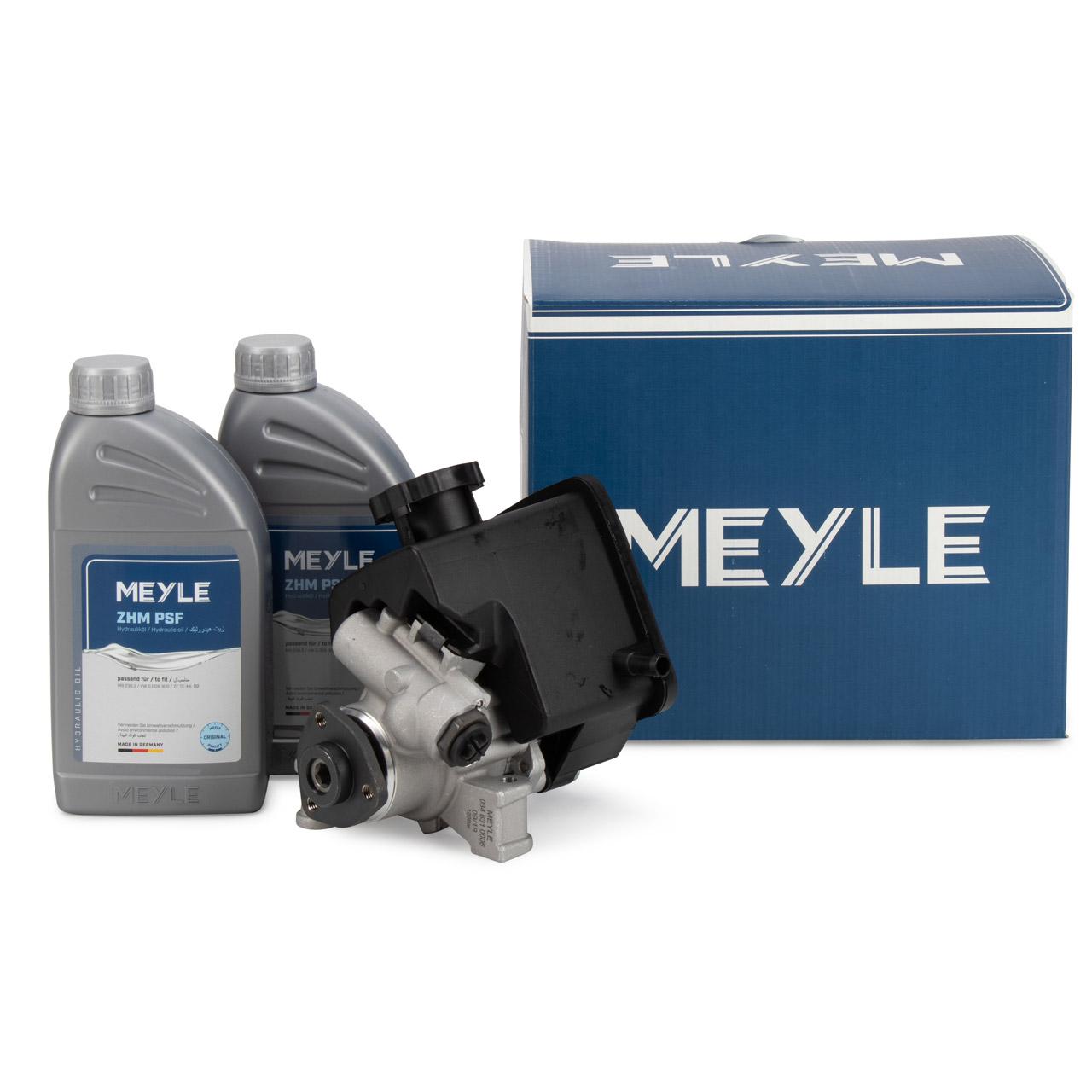 MEYLE Hydraulikpumpe + 2L Hydrauliköl MERCEDES Sprinter 2t-4t B901-B909 OM611 OM612 OM646