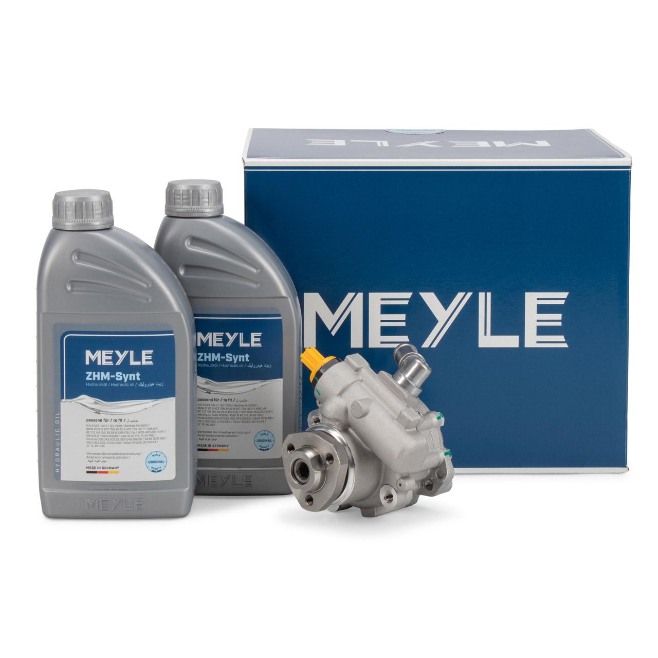 MEYLE Hydraulikpumpe + 2L Hydrauliköl VW Transporter T4 2.5 TDI / D 2.5 ab FIN 70T000001