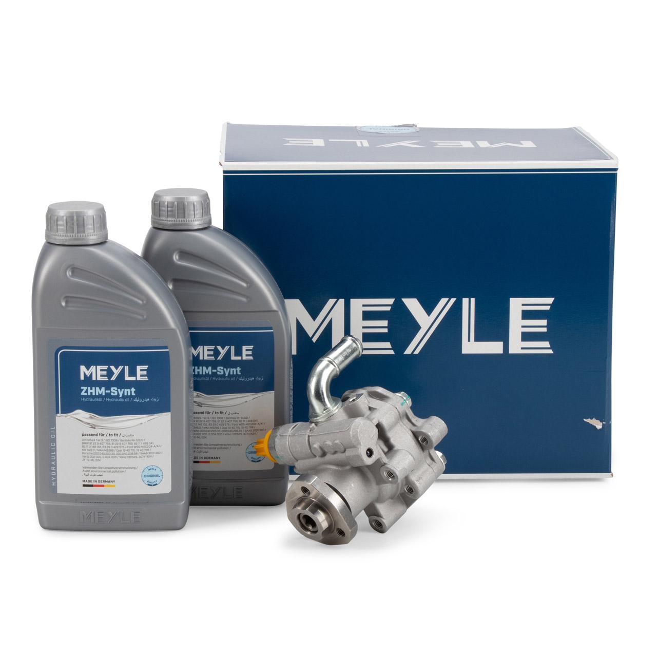 MEYLE Hydraulikpumpe + 2L Hydrauliköl AUDI A3 8L VW Golf 4 Polo 4 SEAT Leon SKODA 1.9 TDI