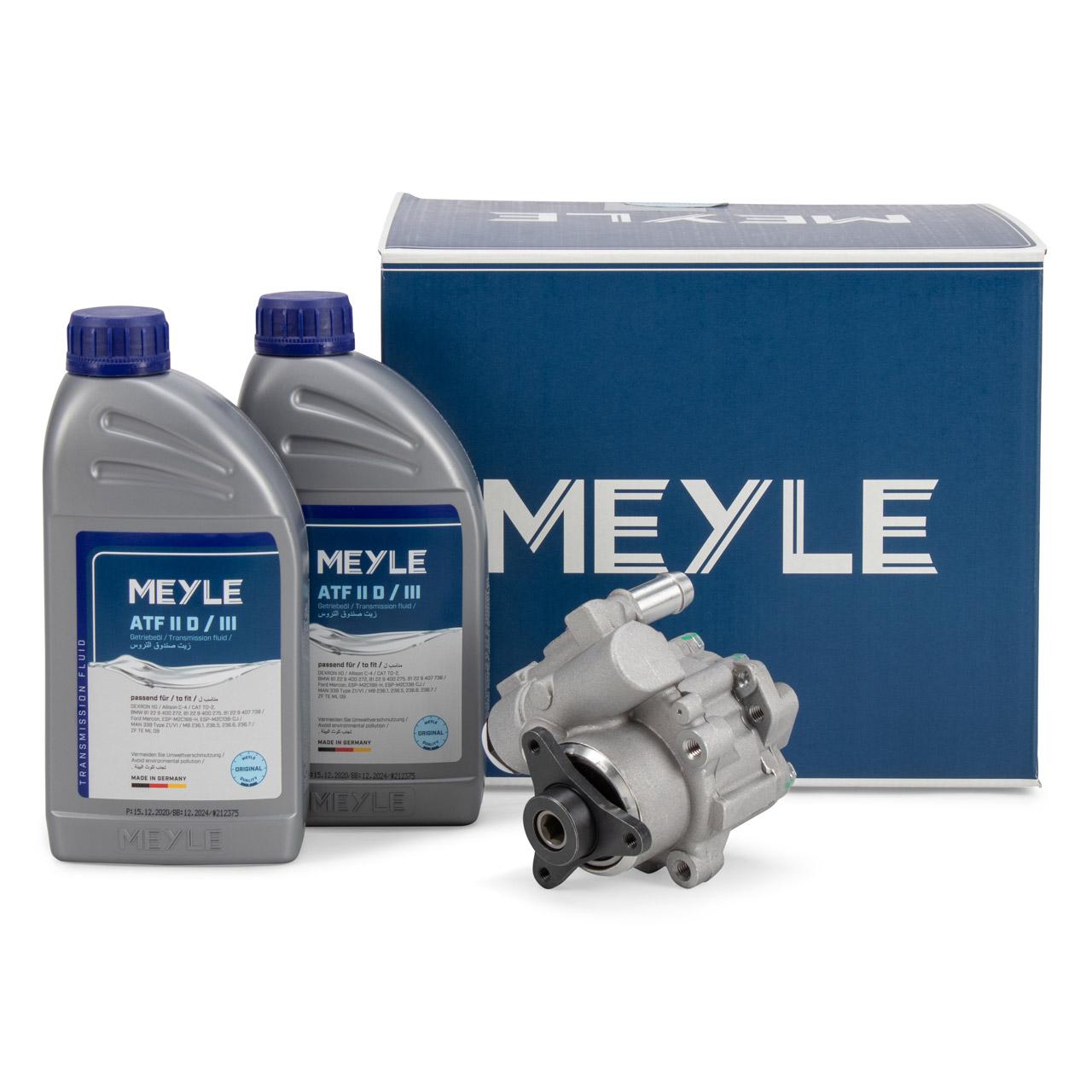 MEYLE Hydraulikpumpe + 2L Öl OPEL Movano Vivaro A RENAULT Traffic 2 RENAULT Laguna 2