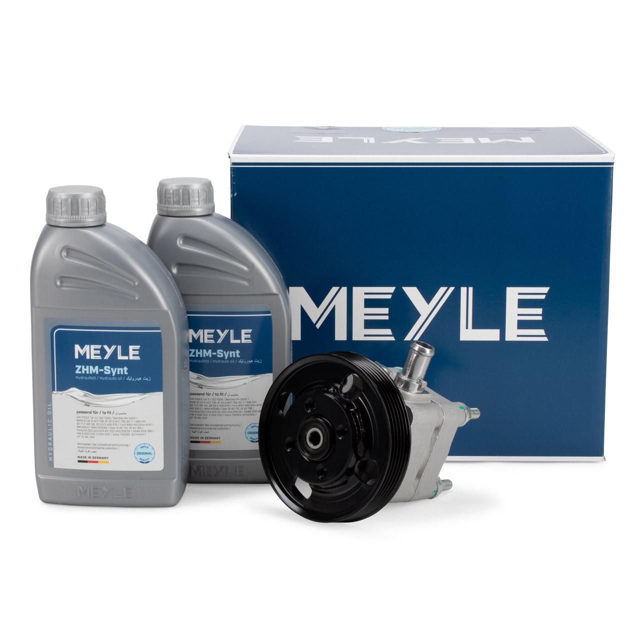 MEYLE Hydraulikpumpe + 2L Hydrauliköl FORD Mondeo 4 S-Max 2.5 VOLVO S80 2 V70 3 2.4D 2.5T