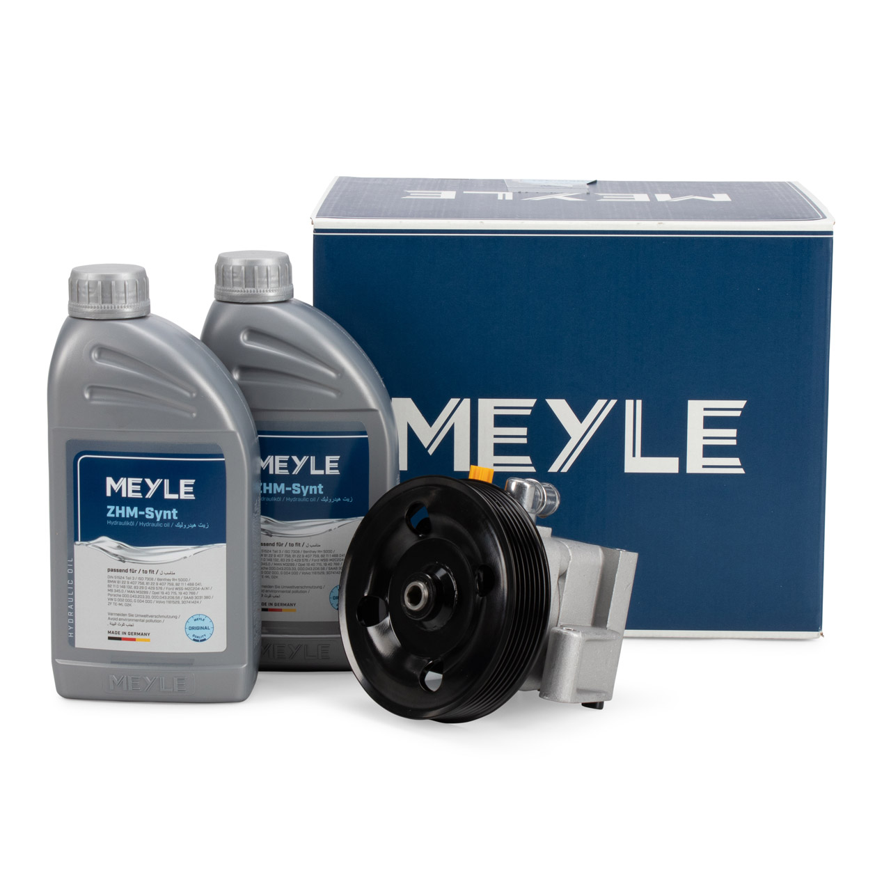 MEYLE Hydraulikpumpe + 2L Hydrauliköl FORD C-Max Focus 2 1.6-2.0 VOLVO C30 S40 2 V50 1.6