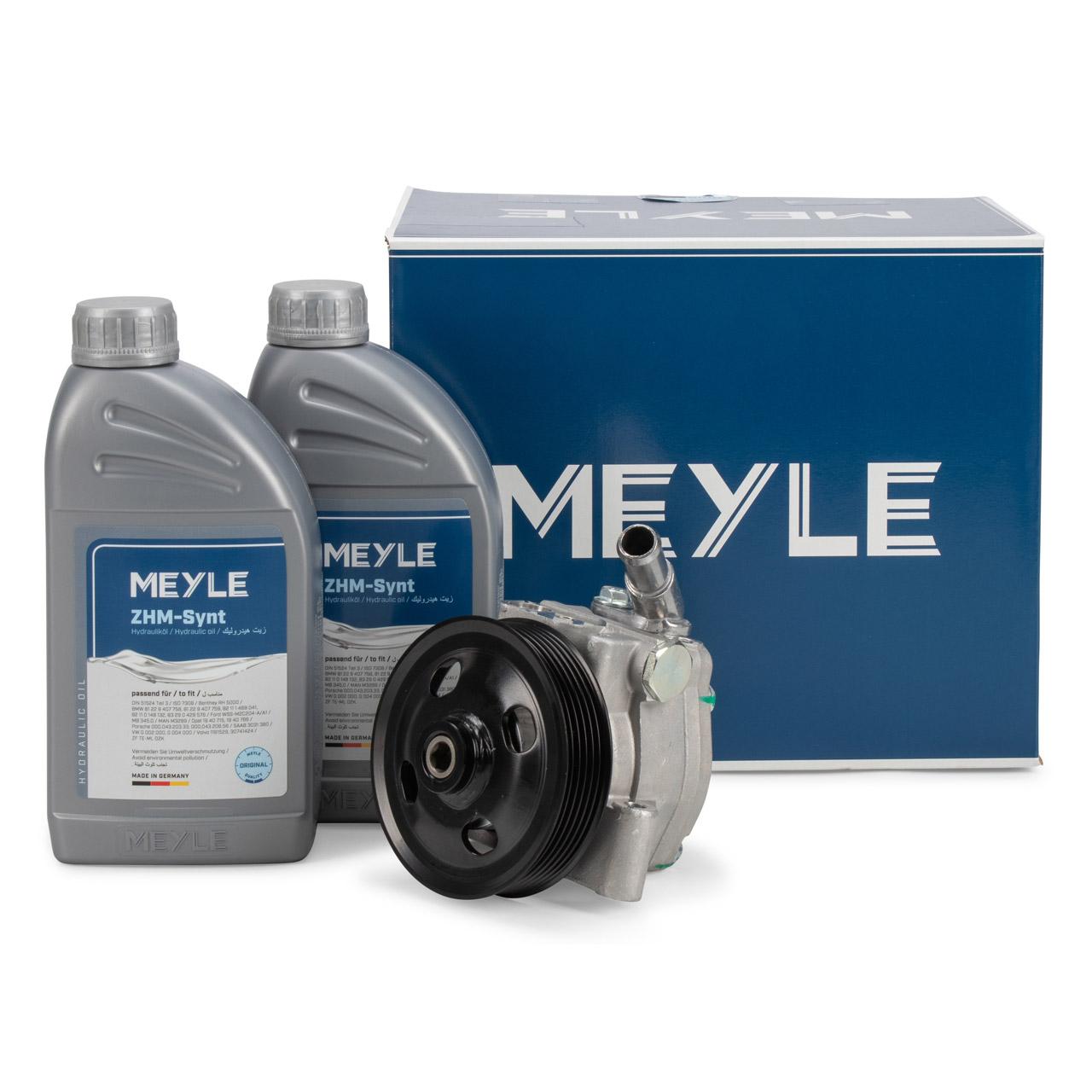 MEYLE Hydraulikpumpe + 2L Hydrauliköl FORD Galaxy 2 Mondeo 4 MK4 S-Max WA6 2.0 2.3