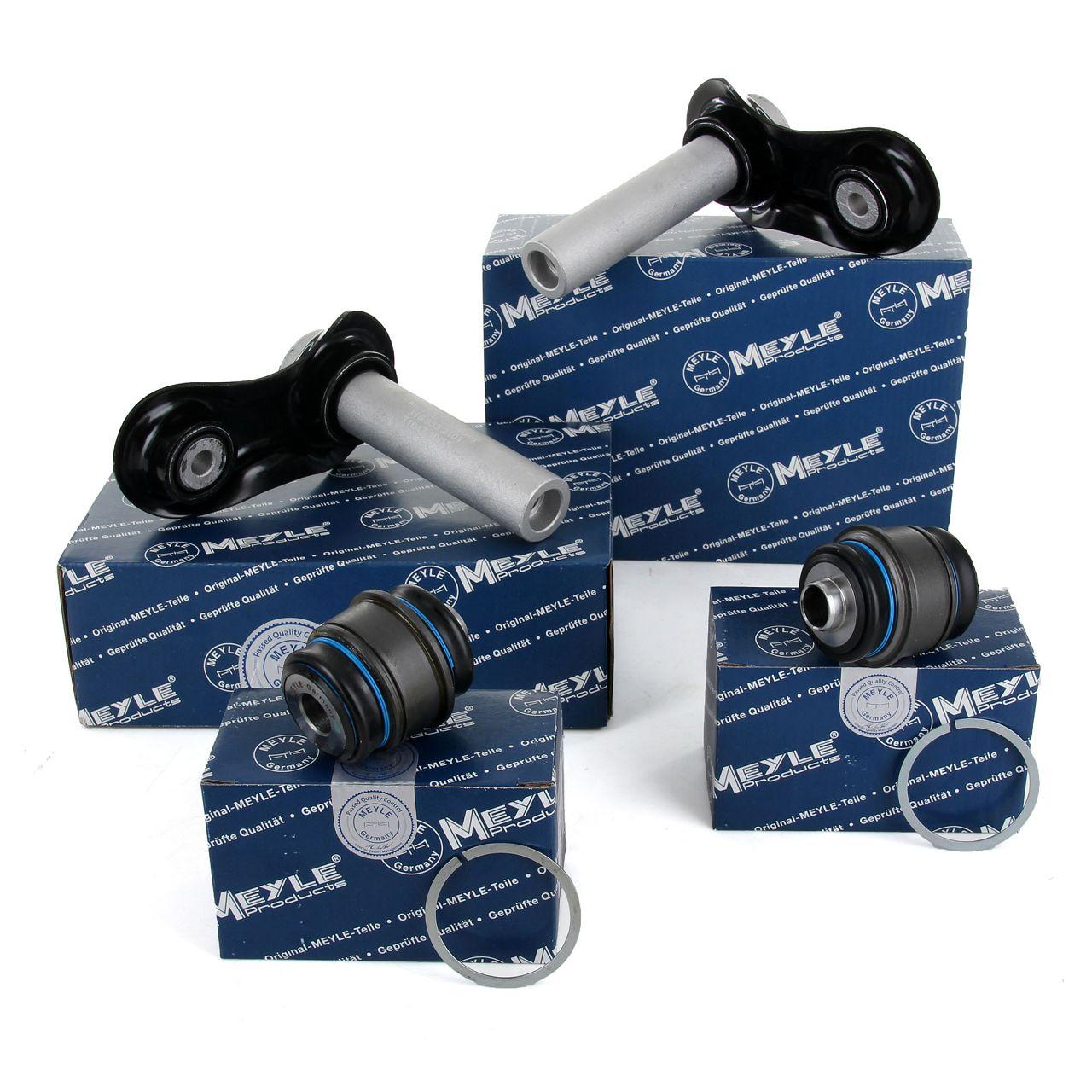 2x MEYLE Integrallenker + Lagerbuchse BMW 5er E39 E60 E61 6er E63 E64 7er E38 E65 hinten