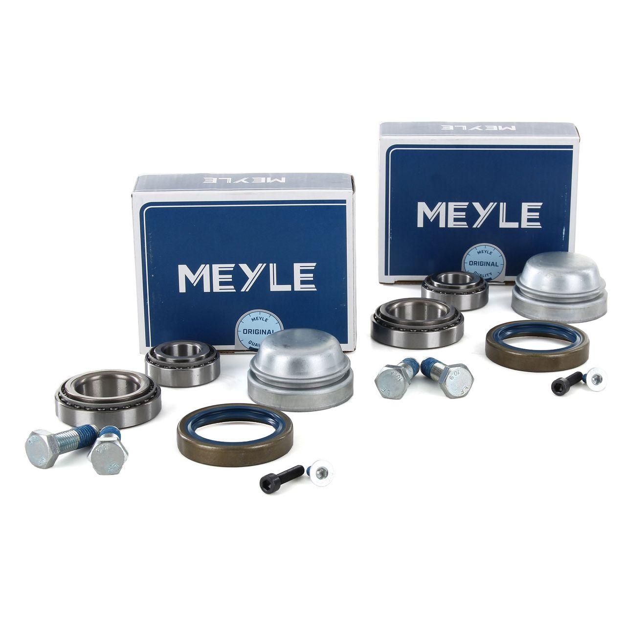 2x MEYLE 0140330100 Radlagersatz MERCEDES W202 S202 W210 S210 SLK R170 CLK C208 A208 vorne